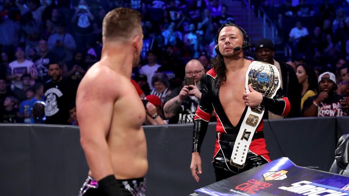 WWE: 3 potential challengers for Shinsuke Nakamura's Intercontinetal Championship