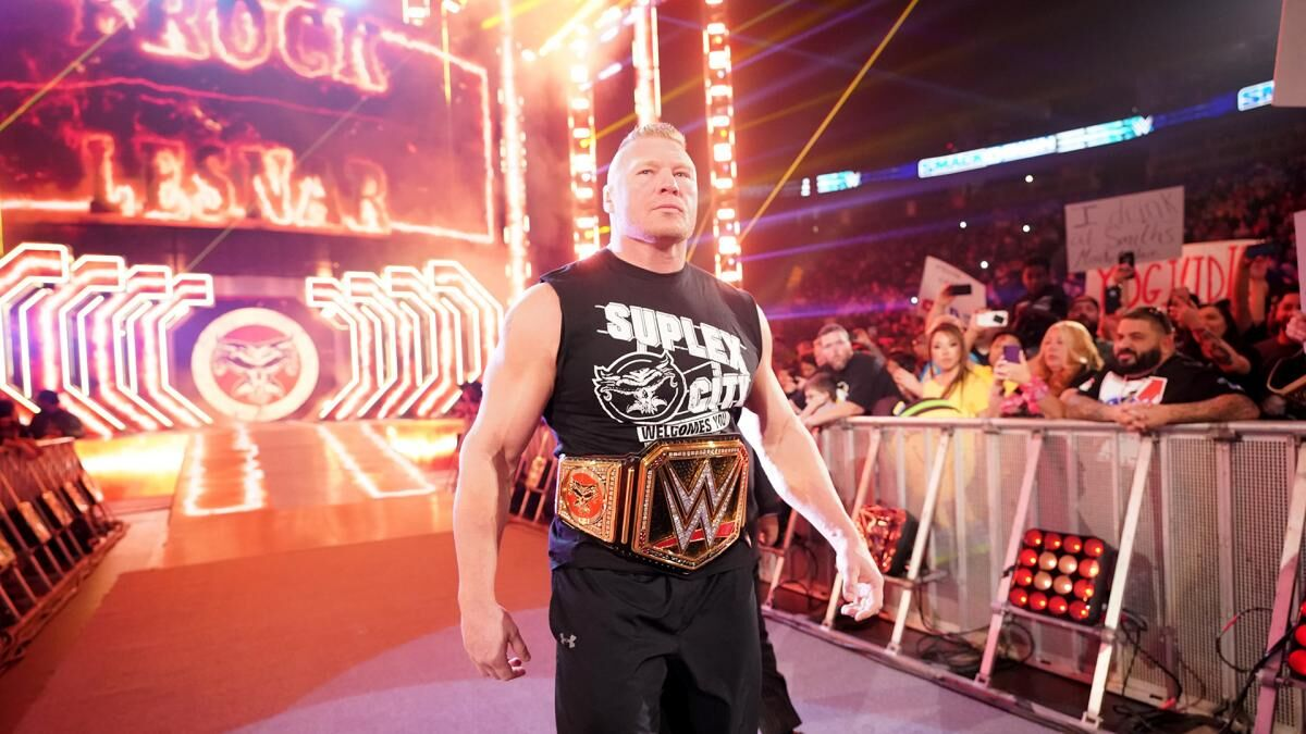 WWE Rumors: Brock Lesnar has two crossover options at WrestleMania 36
