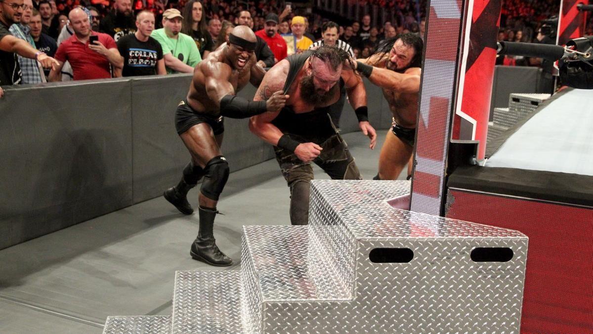 WWE Braun Strowman Attacked