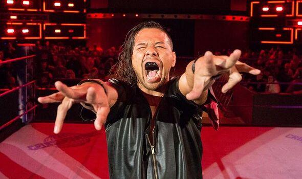 WWE Shinsuke Nakamura