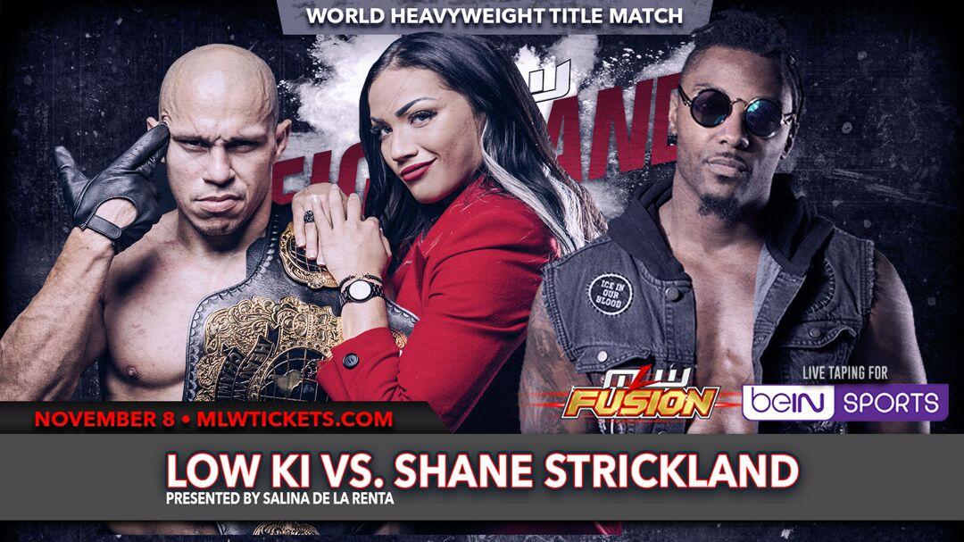 Low Ki vs Shane Strickland at Fightland