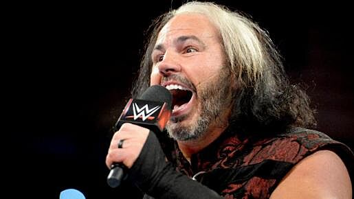 WWE Raw Matt Hardy