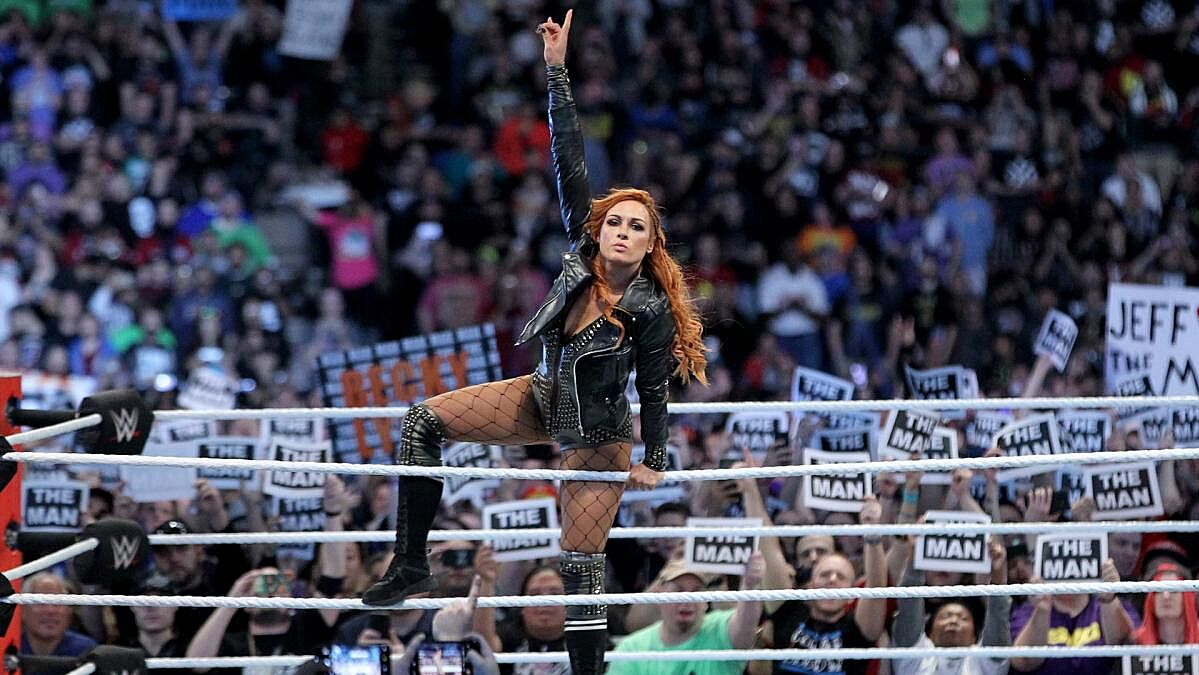WWE SmackDown Live Becky Lynch Royal Rumble