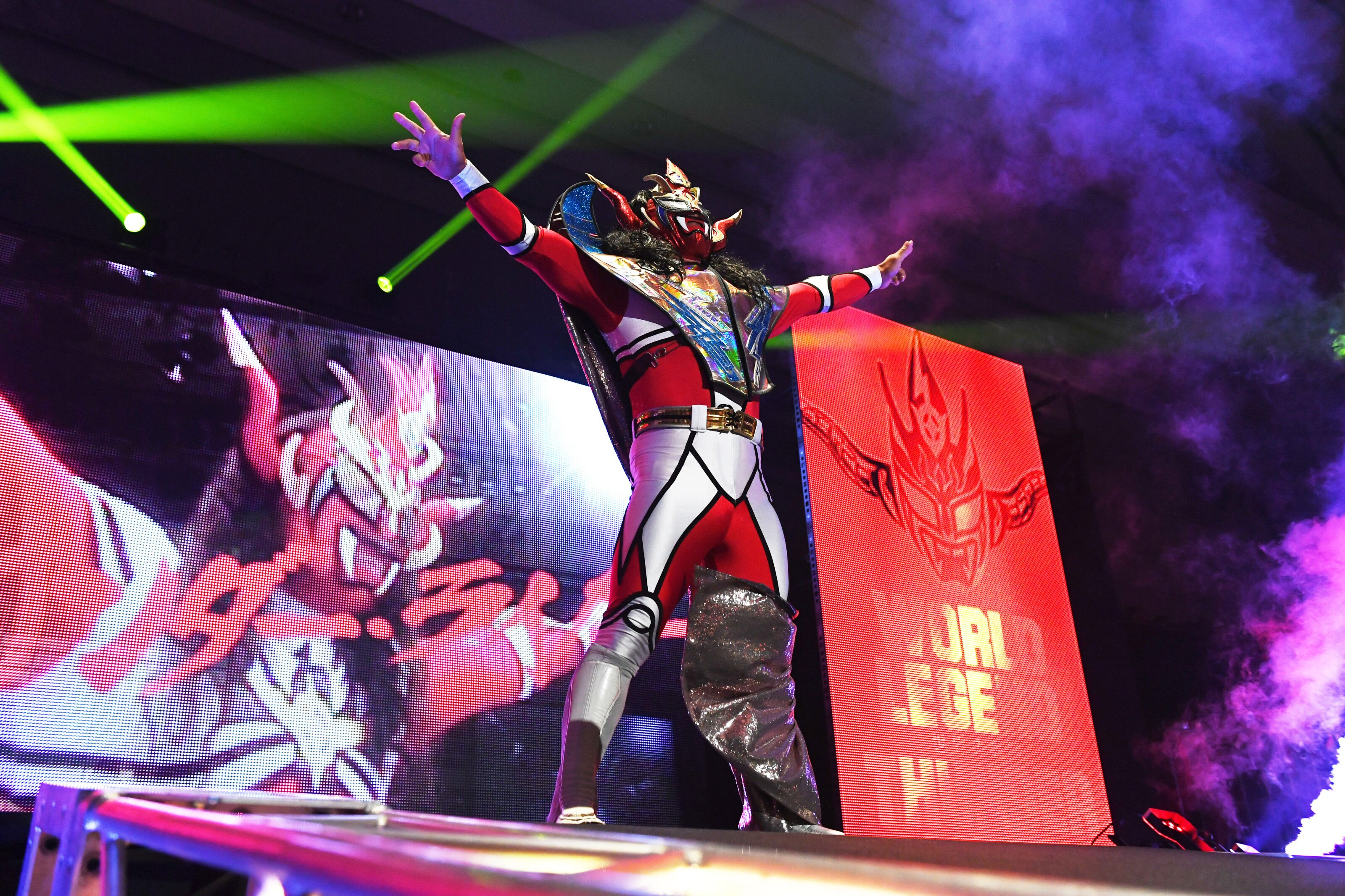 The influence of manga and anime in pro wrestling