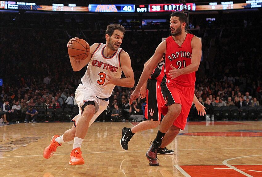 The New York Knicks will have their starting point guard back tonight. Jose  Calderon has been cleared by team doctors to play and will be back in the  lineup ... 32f530f51