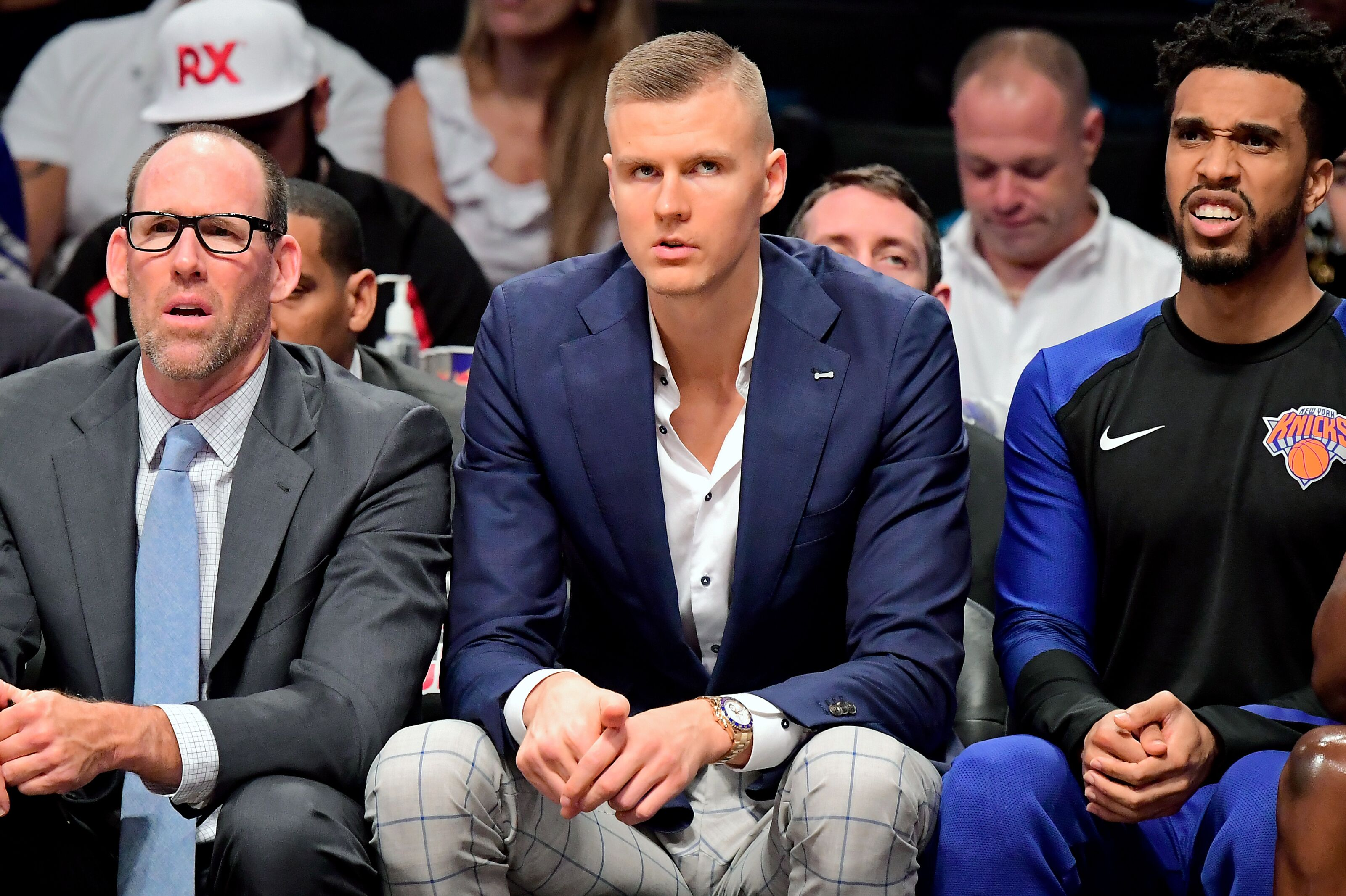 a26a245c1a3a New York Knicks  How much  closer  is Kristaps Porzingis to return
