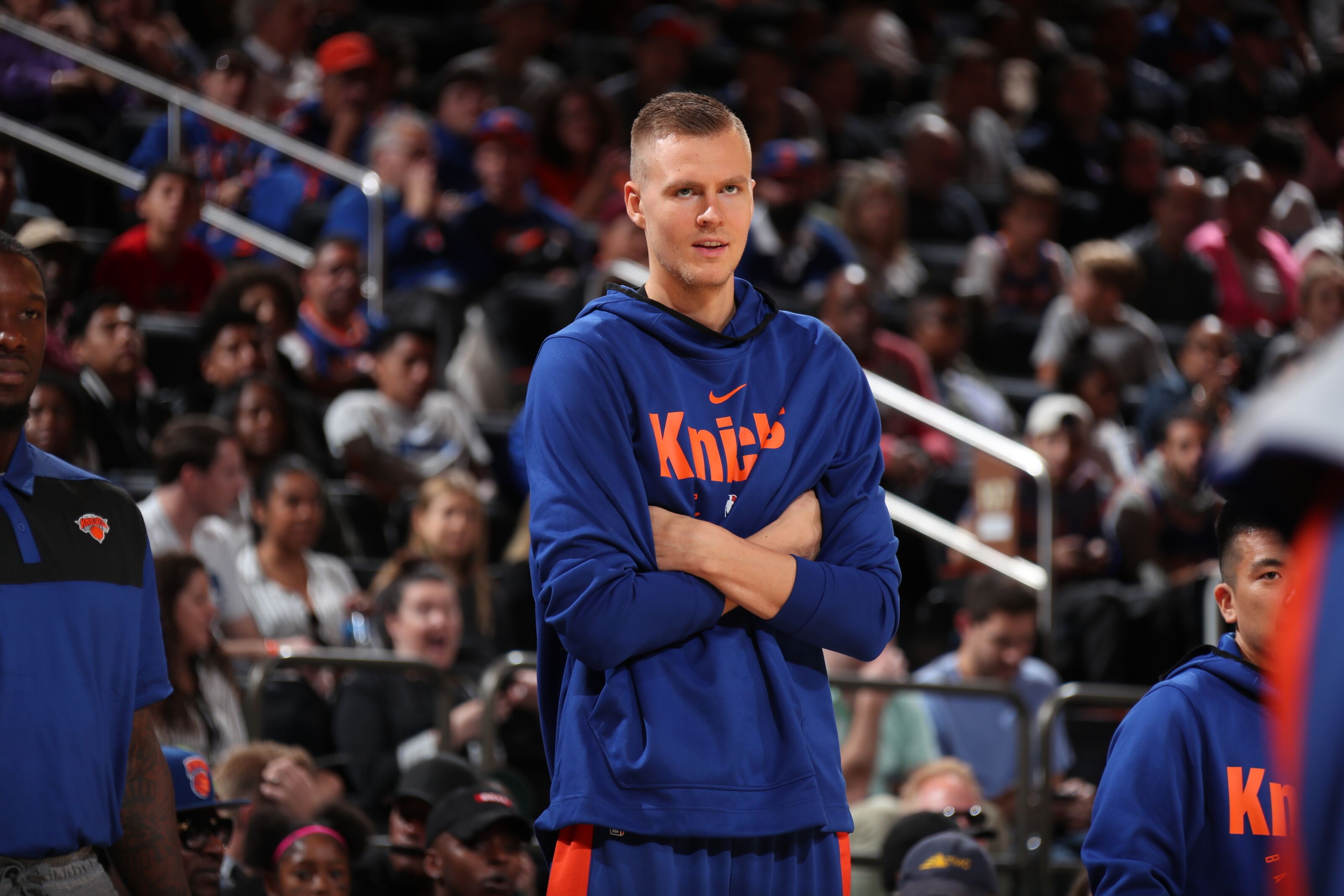 daa4dd1873b7 New York Knicks  Kristaps Porzingis just wants to  hoop