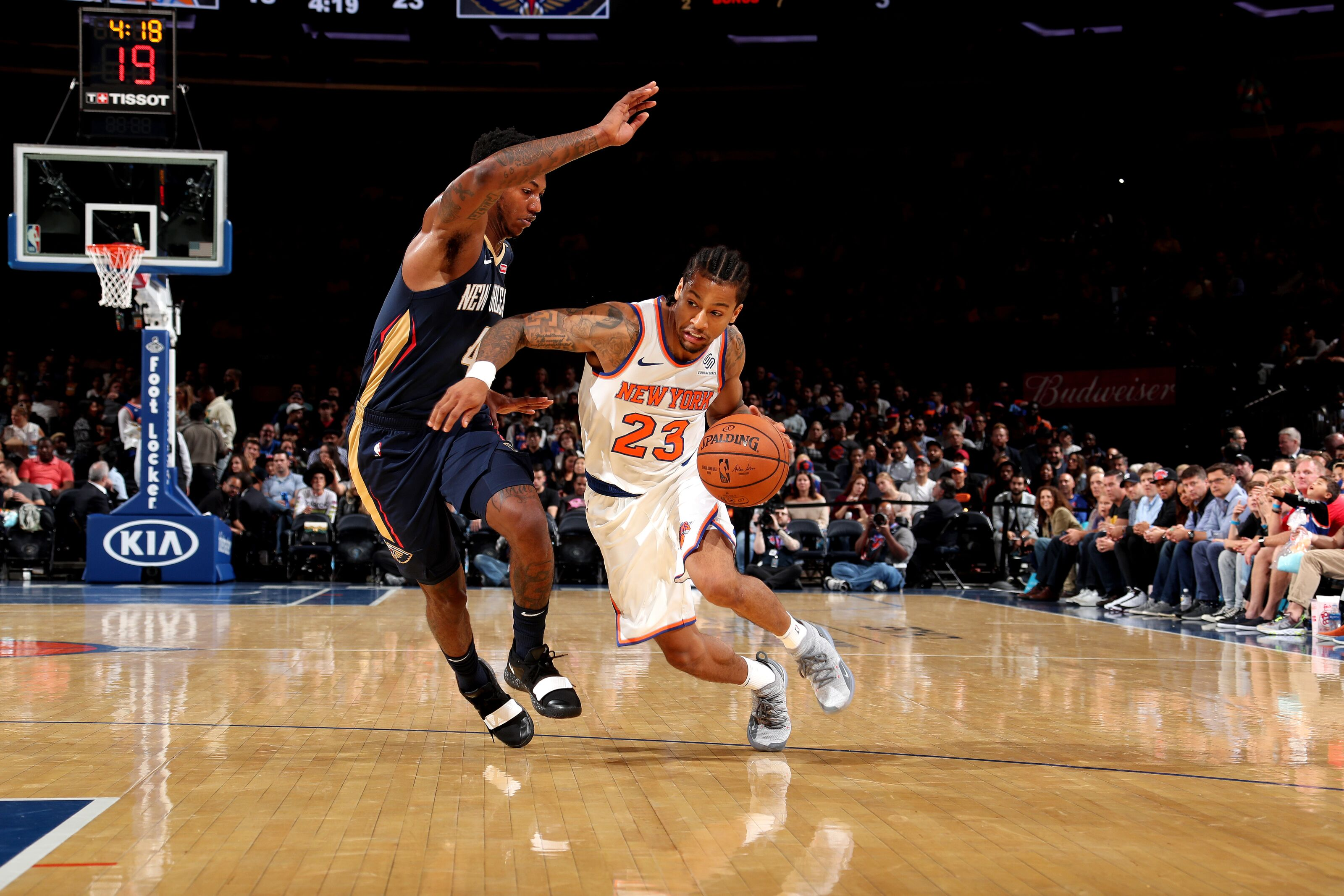 New York Knicks: New York Knicks: No Answers At Point Guard So Far