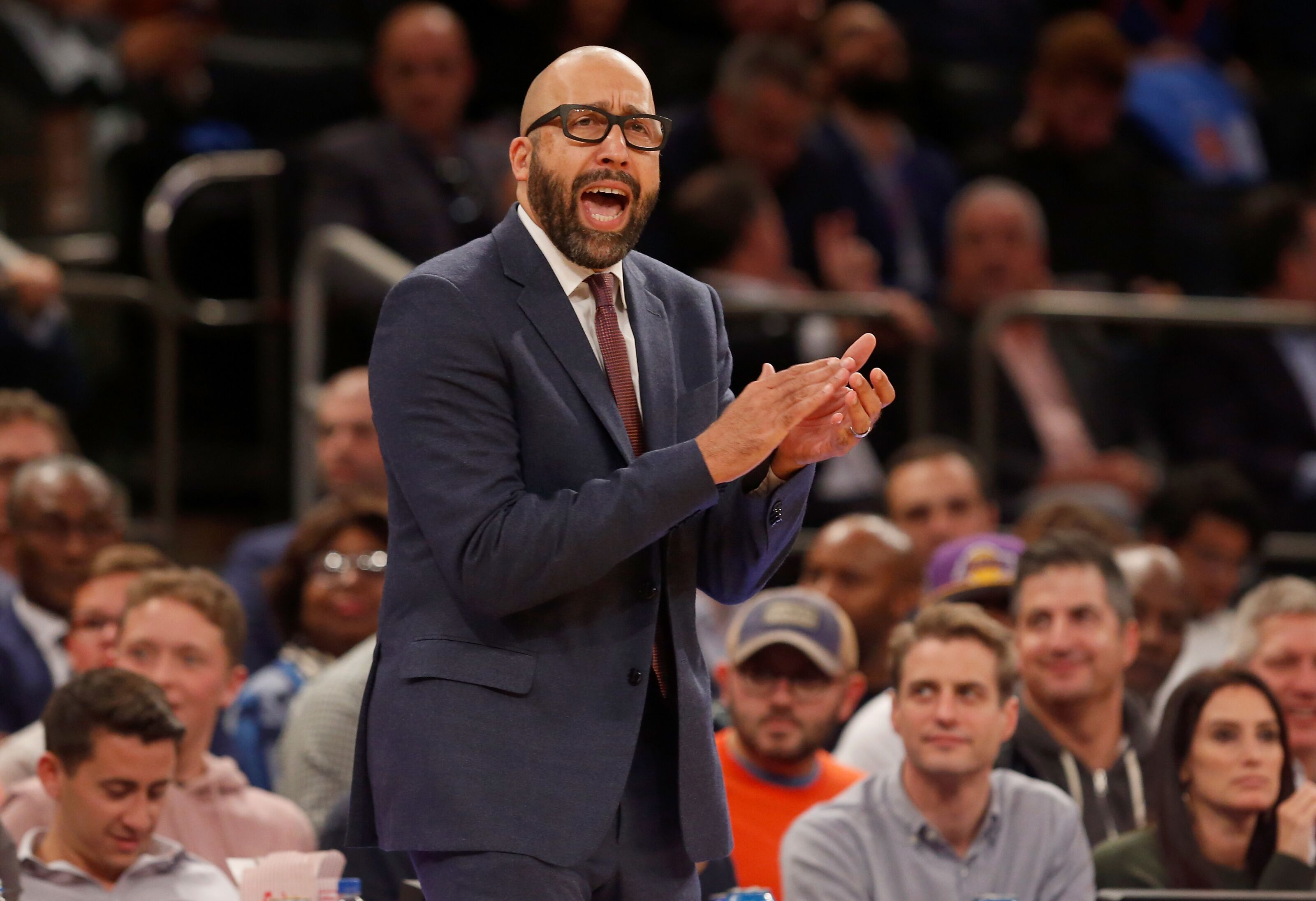 New York Knicks: David Fizdale teases changes to starting lineup