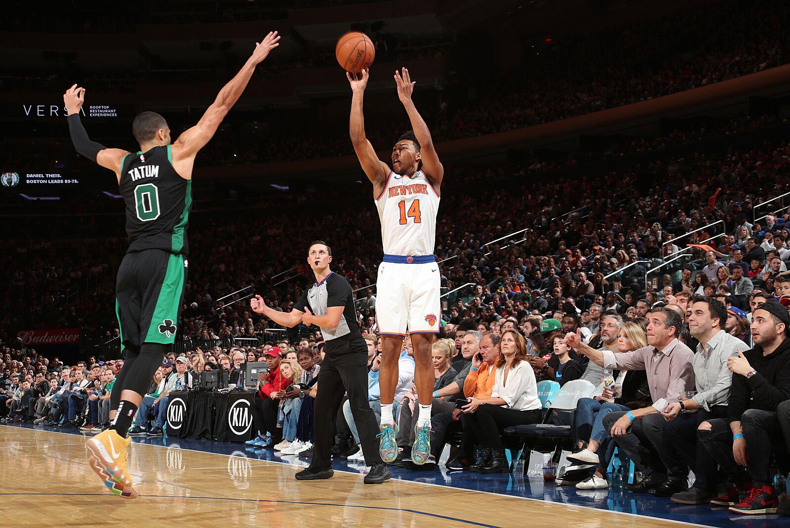 New York Knicks  Can Allonzo Trier make an All-Rookie team  1fdff4d73