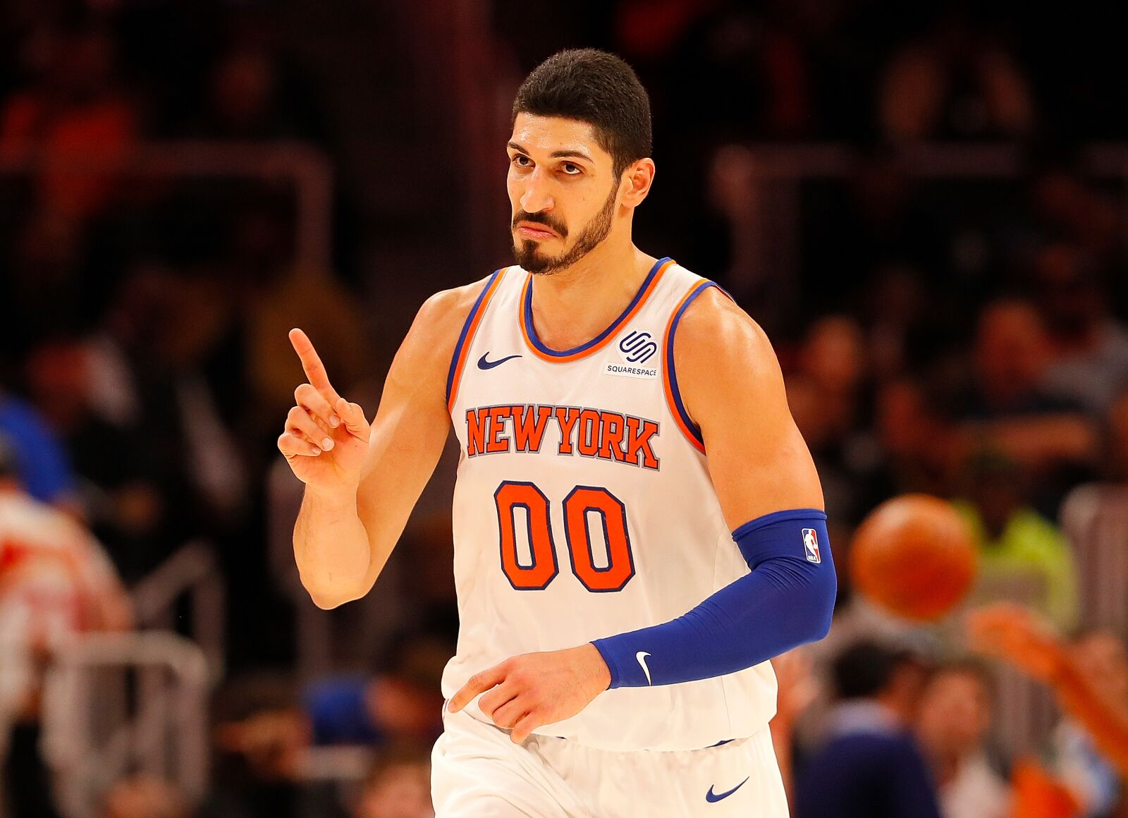 New York Knicks: Enes Kanter makes unusual return to MSG