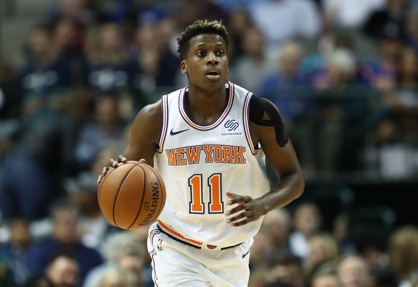 New York Knicks  Making sense of Frank Ntilikina s absent night 5909fc201