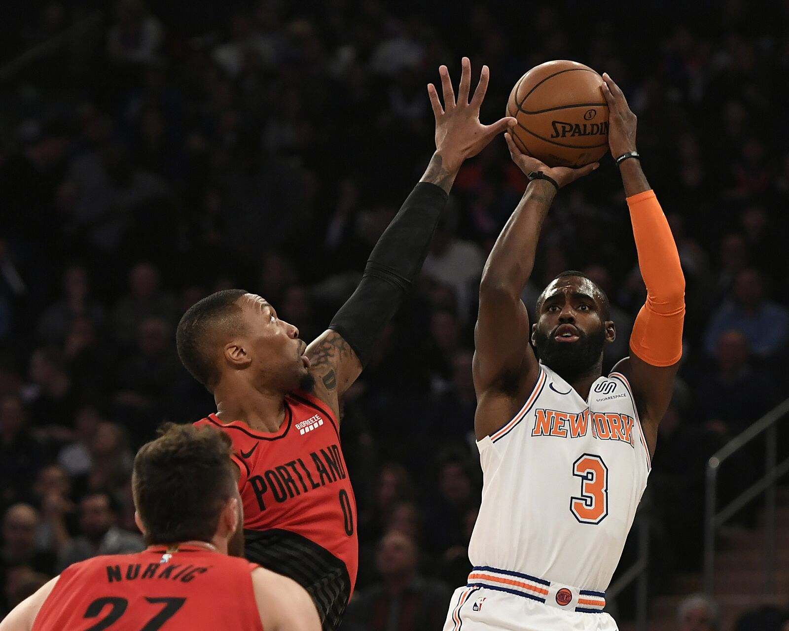 New York Knicks Who stepped up in tight game against Blazers
