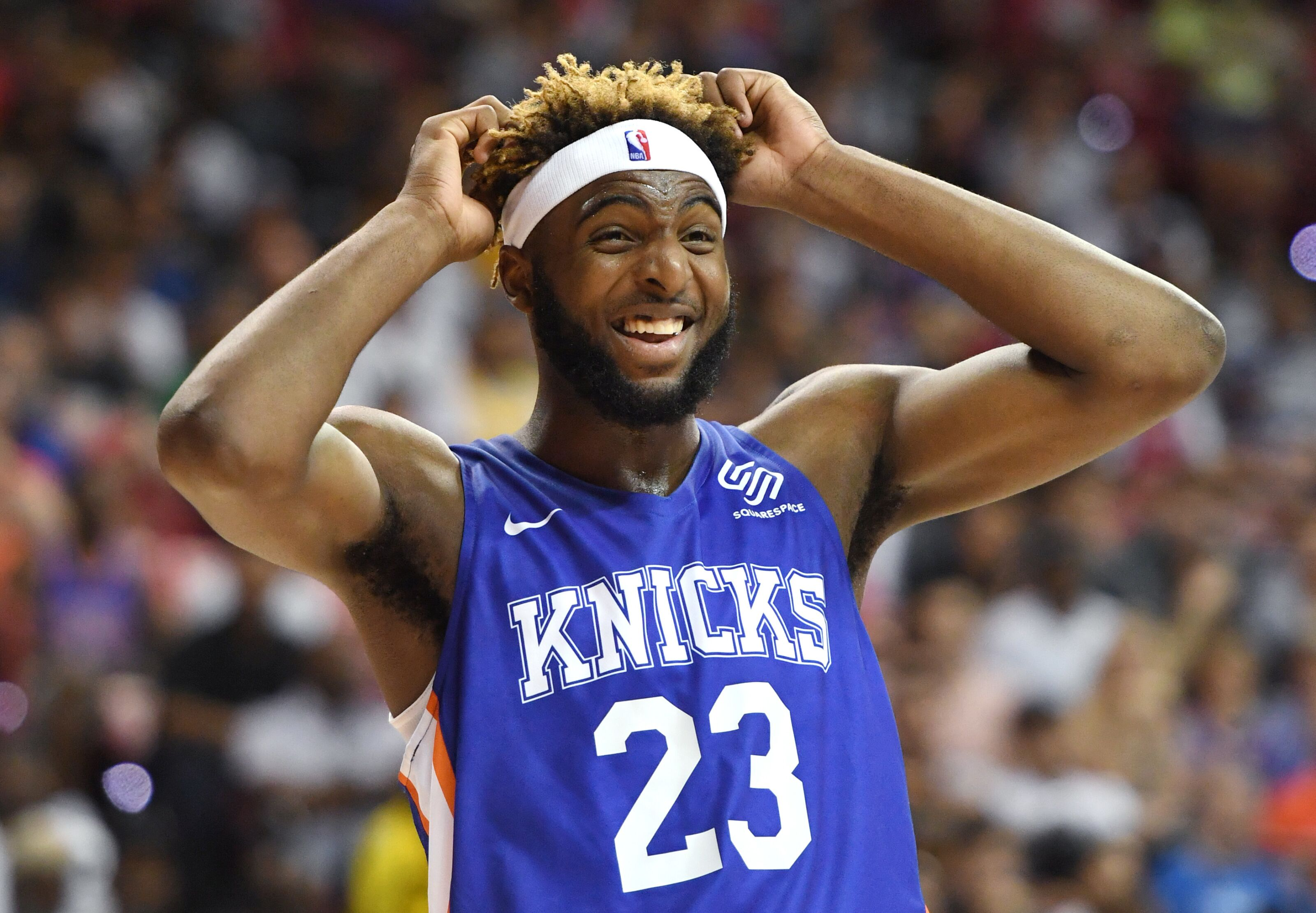 New York Knicks: Stacking Mitchell Robinson against division-rival centers