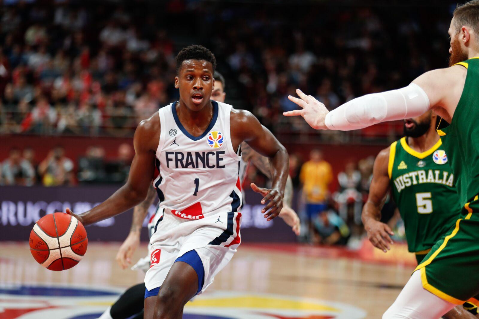 New York Knicks: Frank Ntilikina reacts to his FIBA World Cup ending