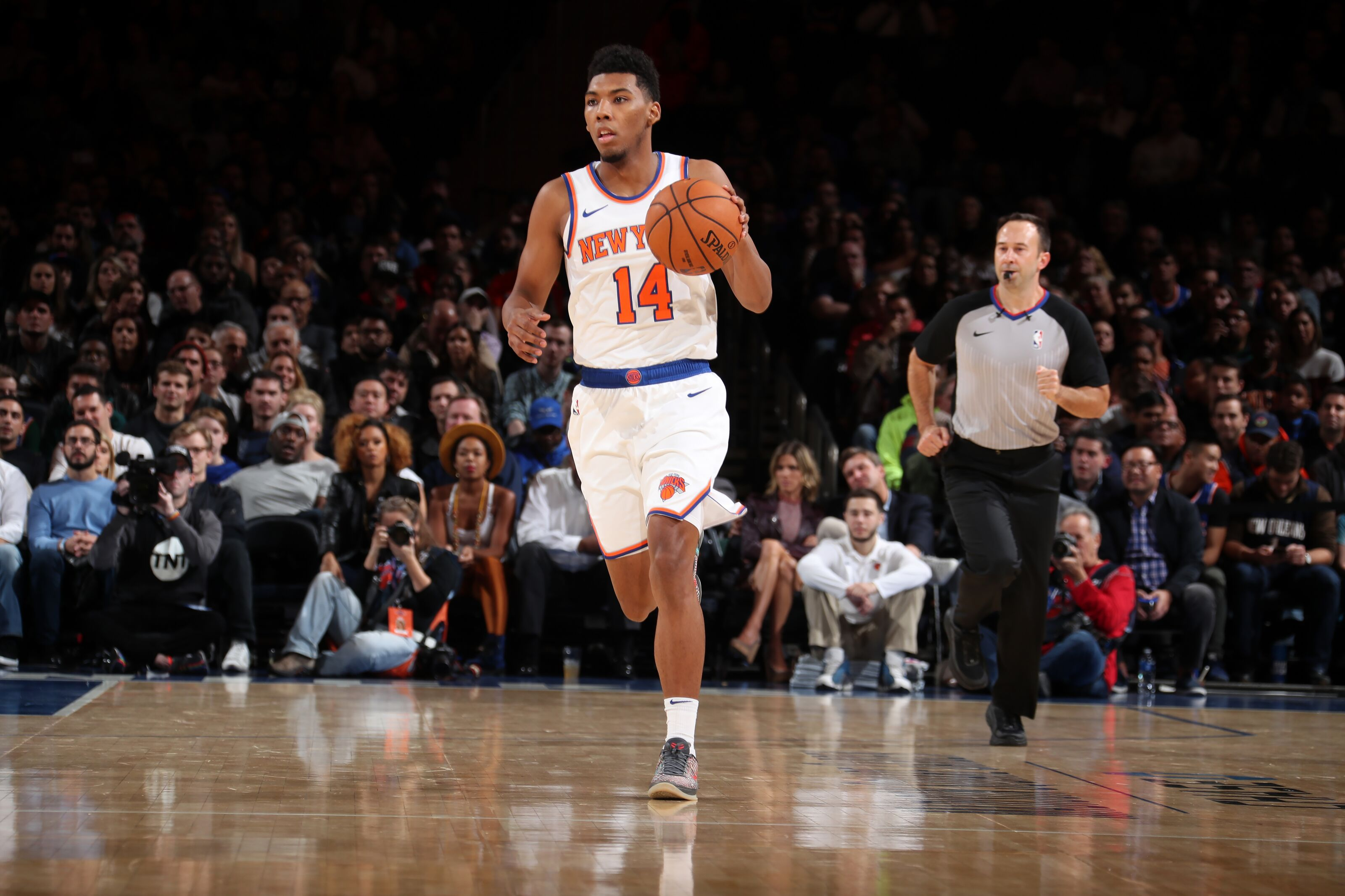 New York Knicks: Where do players on the rotation bubble stand?