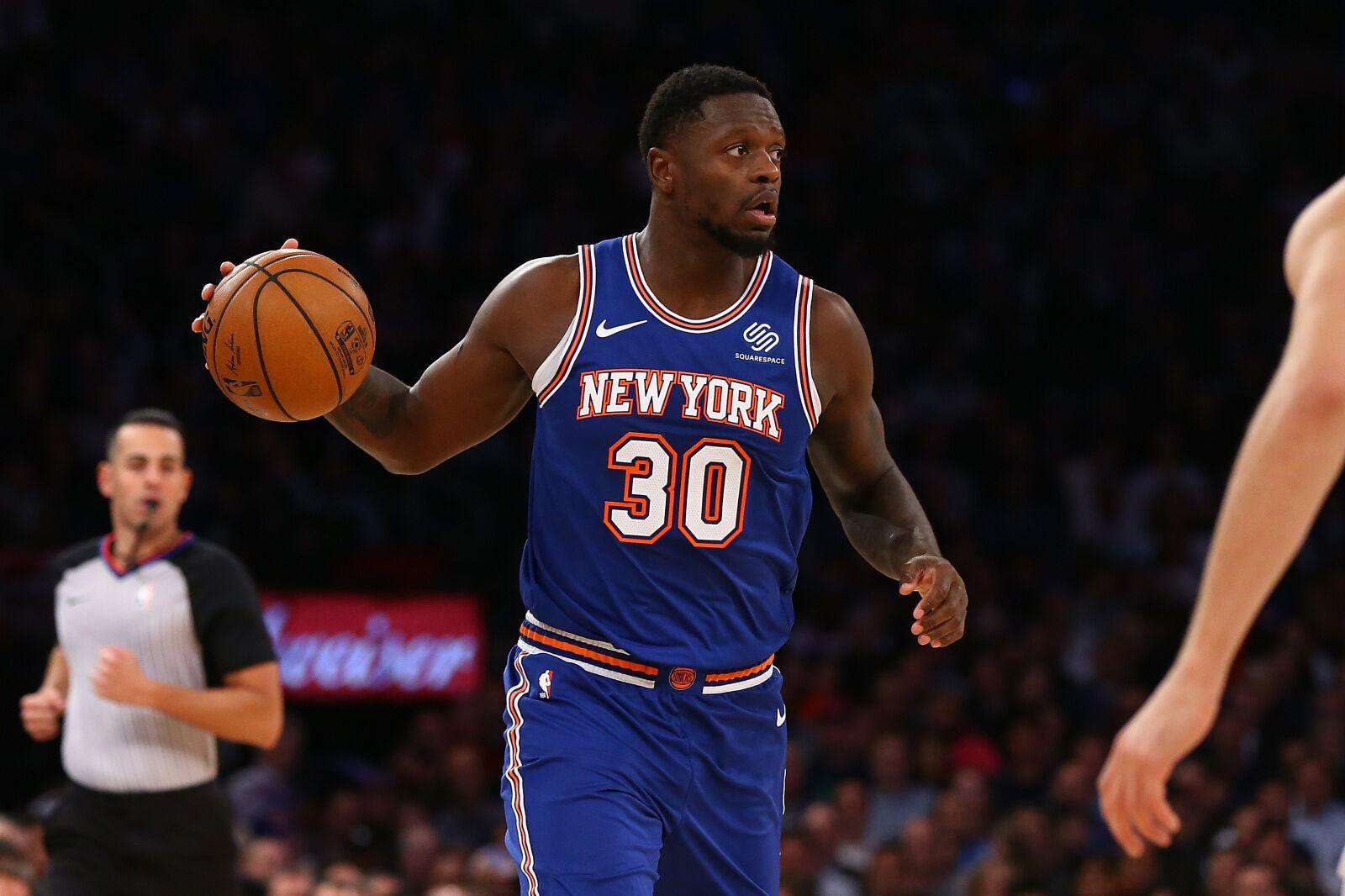 New York Knicks: Assessing Julius Randle's early struggles