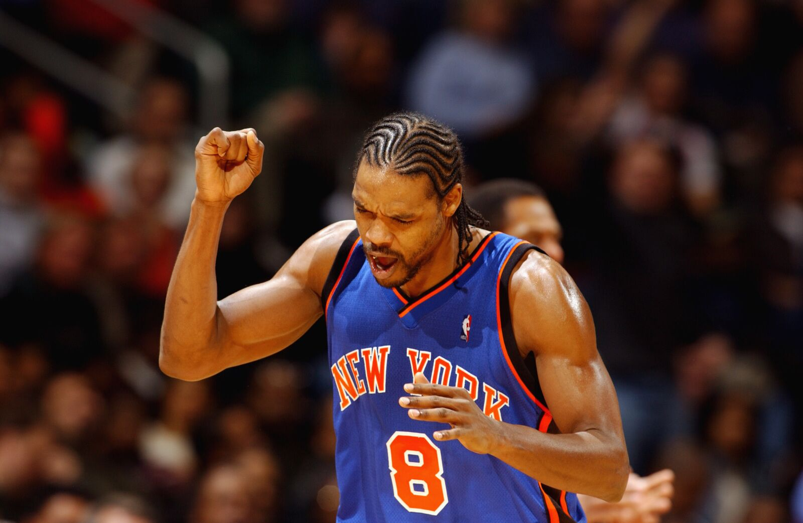 size 40 c4987 a5049 Garden History: Latrell Sprewell's tenure with the New York ...