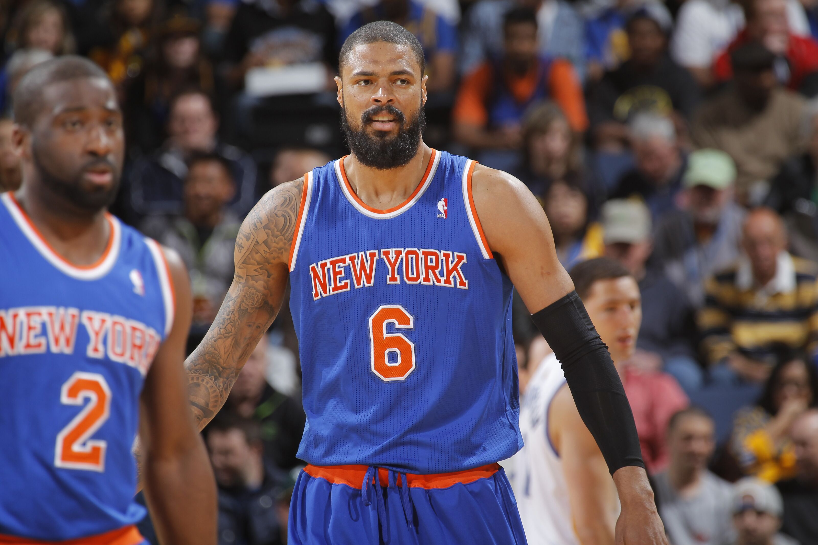 83d23b10834 New York Knicks: Tyson Chandler likes team's chances in free agency
