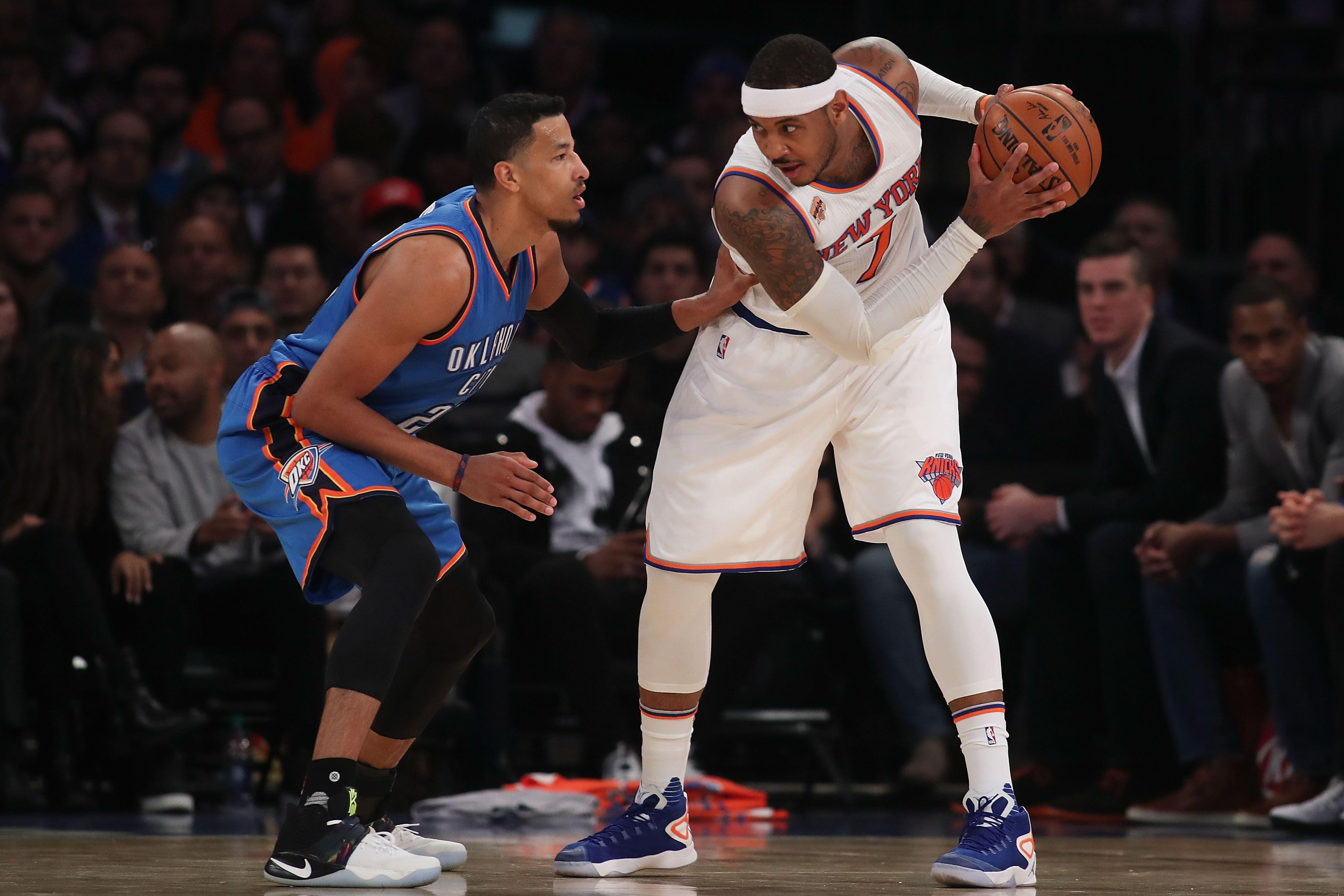 Knicks Trade Rumors: Carmelo Anthony open to trade to Thunder