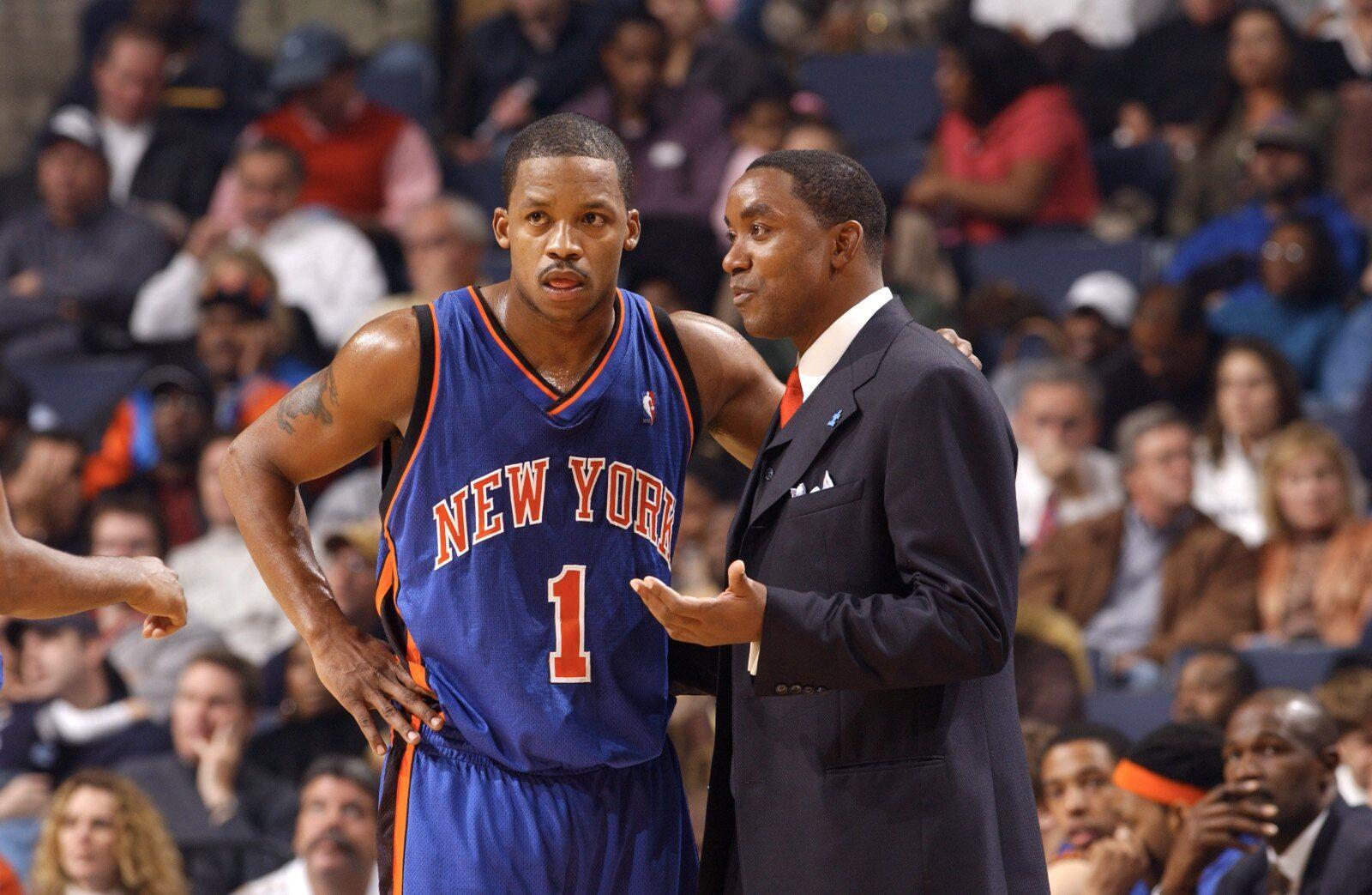 buy online 275d6 abd1f New York Knicks: When Steve Francis arrived via trade
