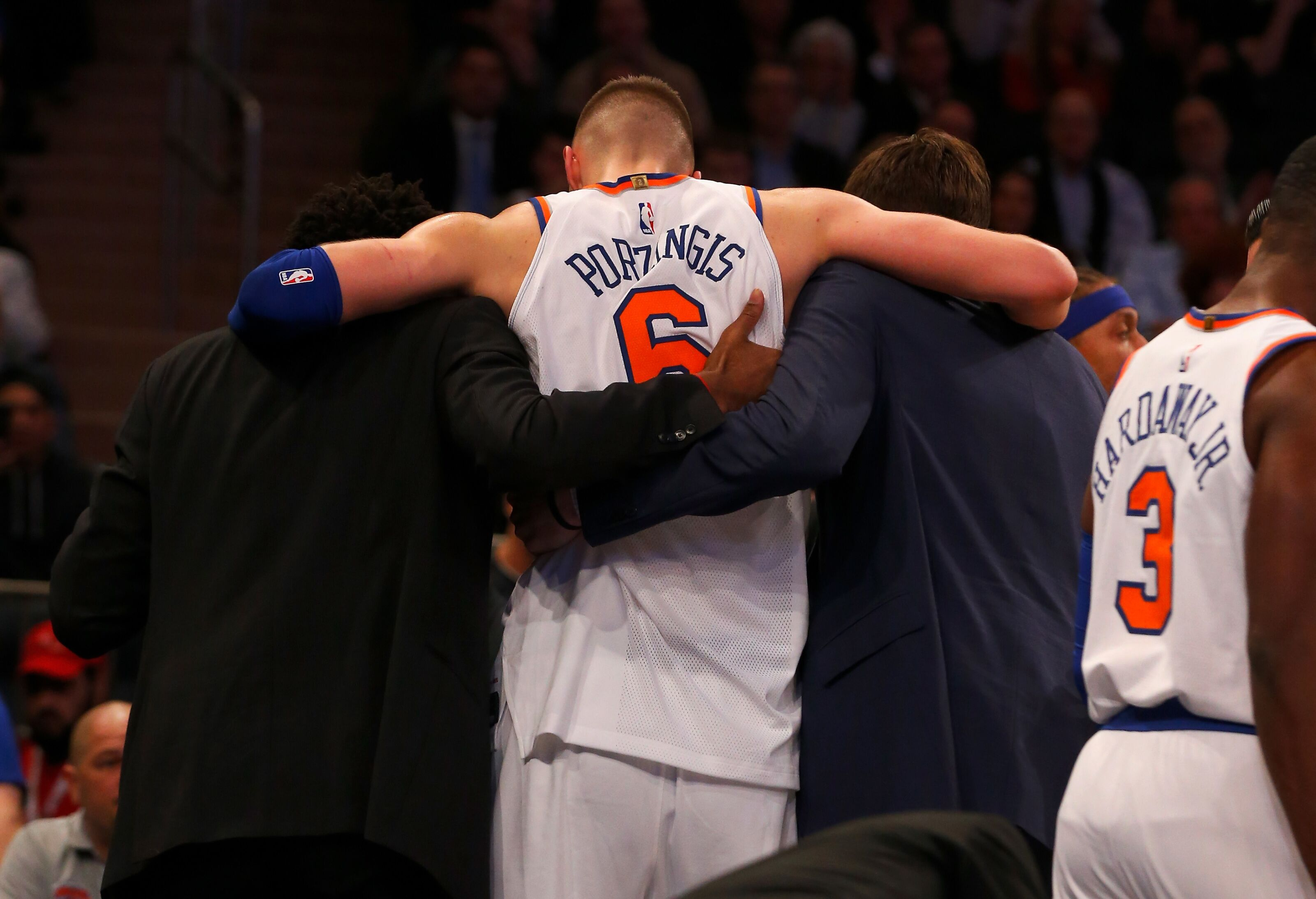 63c4a58565b6 New York Knicks  A significant injury update on Kristaps Porzingis