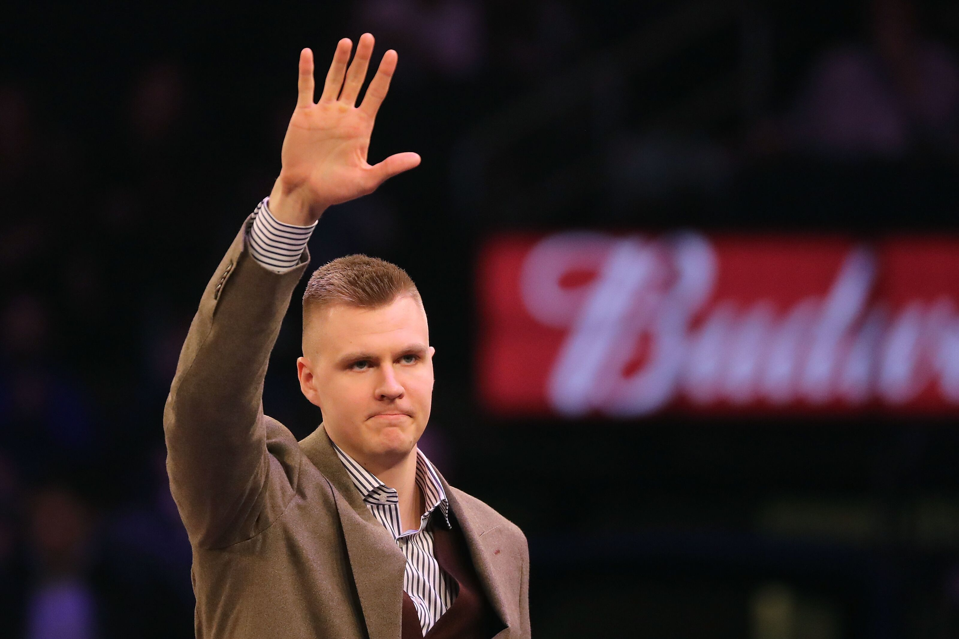 c06c3d3cb13b Knicks Rumors  Kristaps Porzingis questioned playing with Kevin Durant