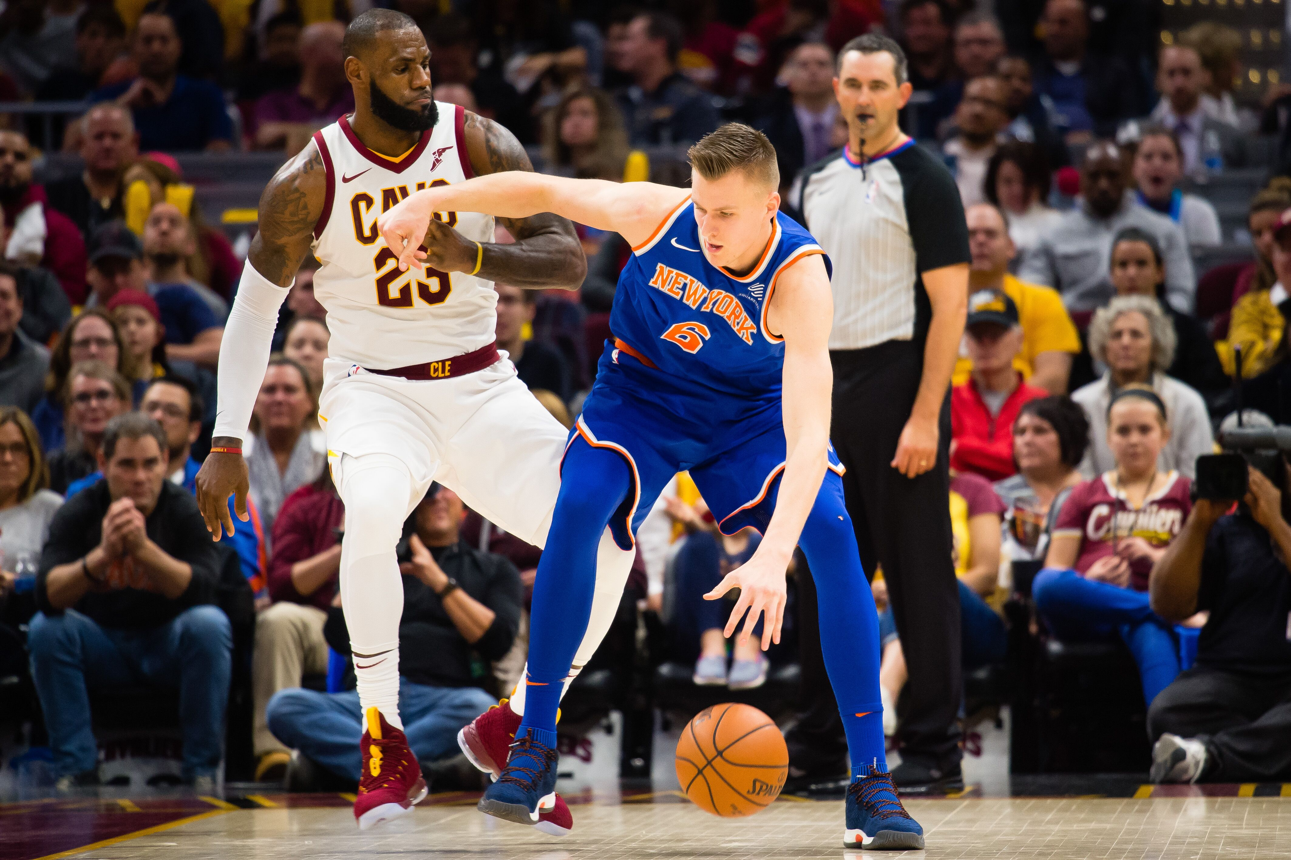new product ee6a5 ca234 New York Knicks  Keys to defeating Cleveland Cavaliers on Nov. 13