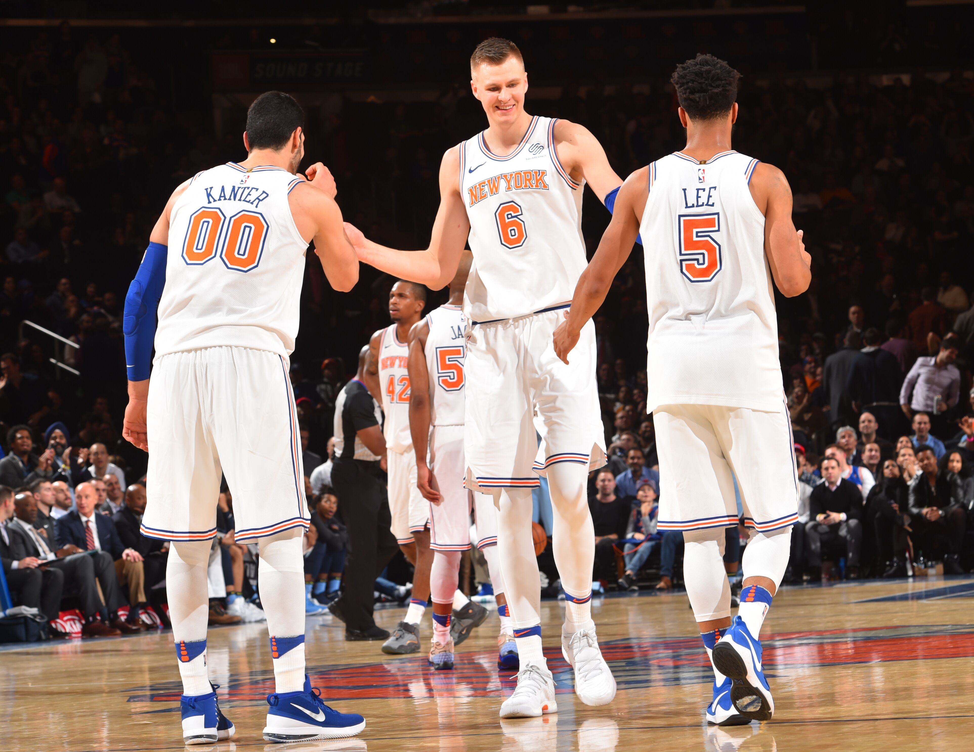 New York Knicks: New York Knicks: Five New Year's Resolutions For 2018