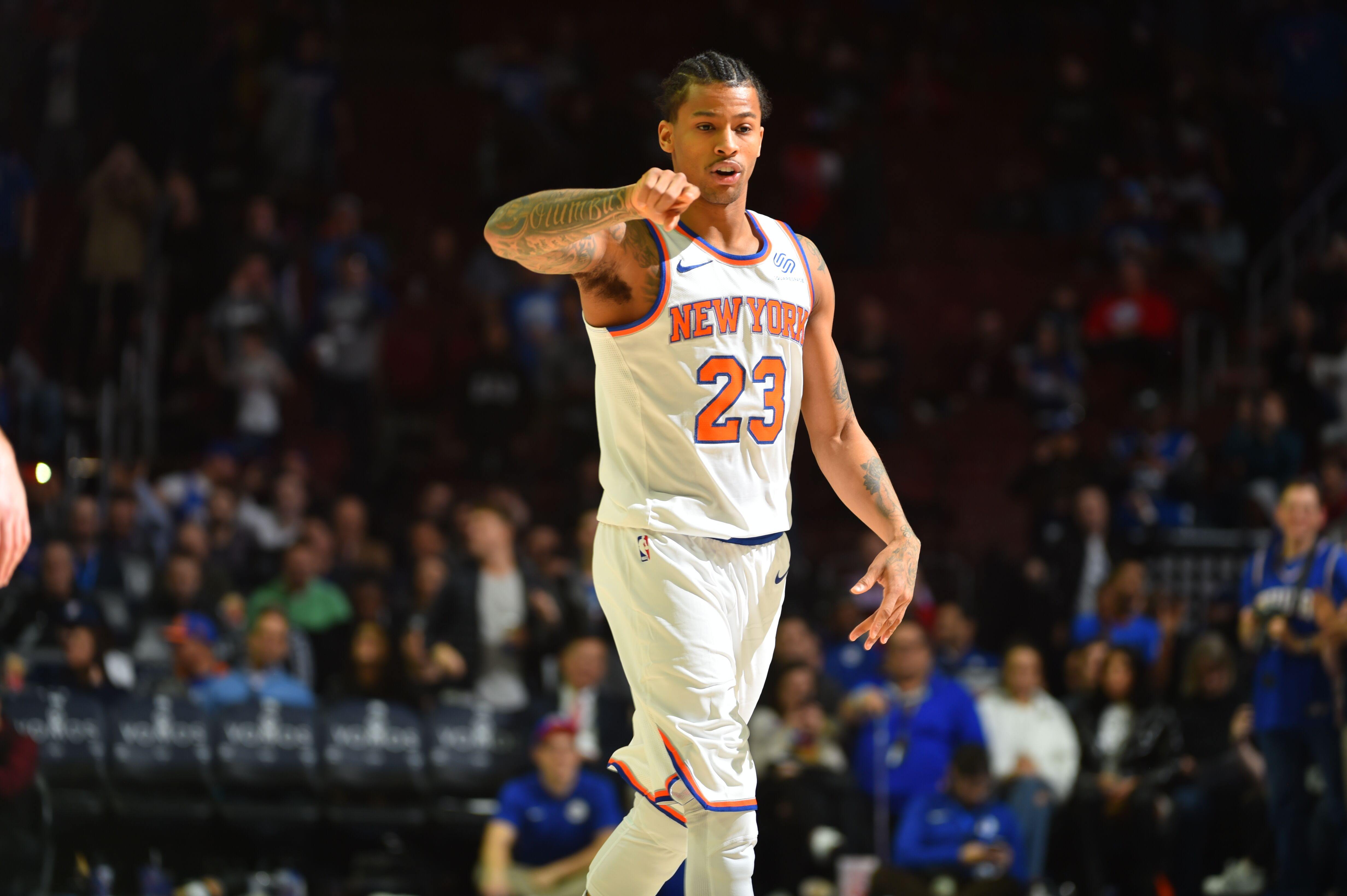c31e27660 New York Knicks  Trey Burke knows defense is the key to his future