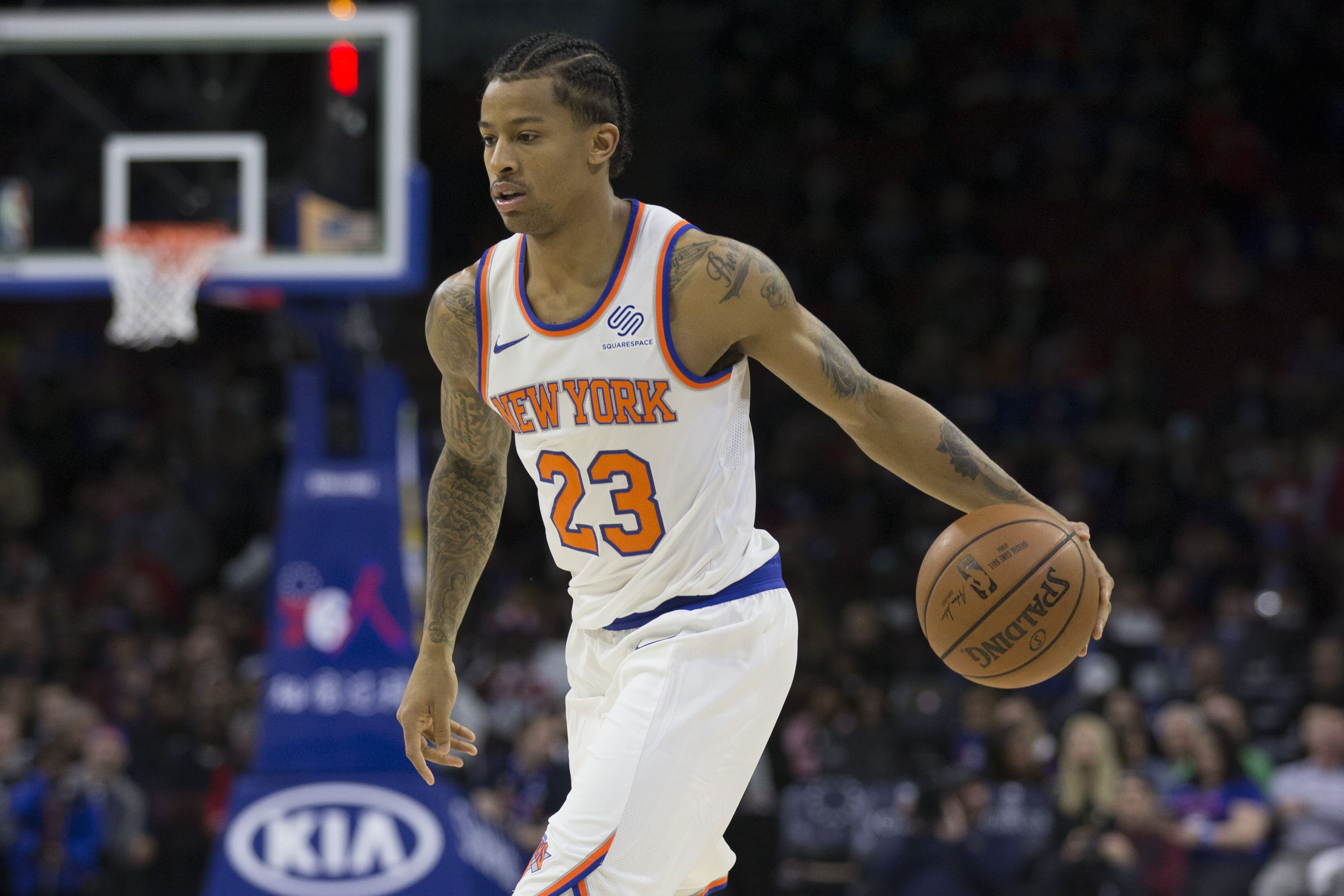 a00bdc85c New York Knicks  Can Trey Burke sustain this level of play