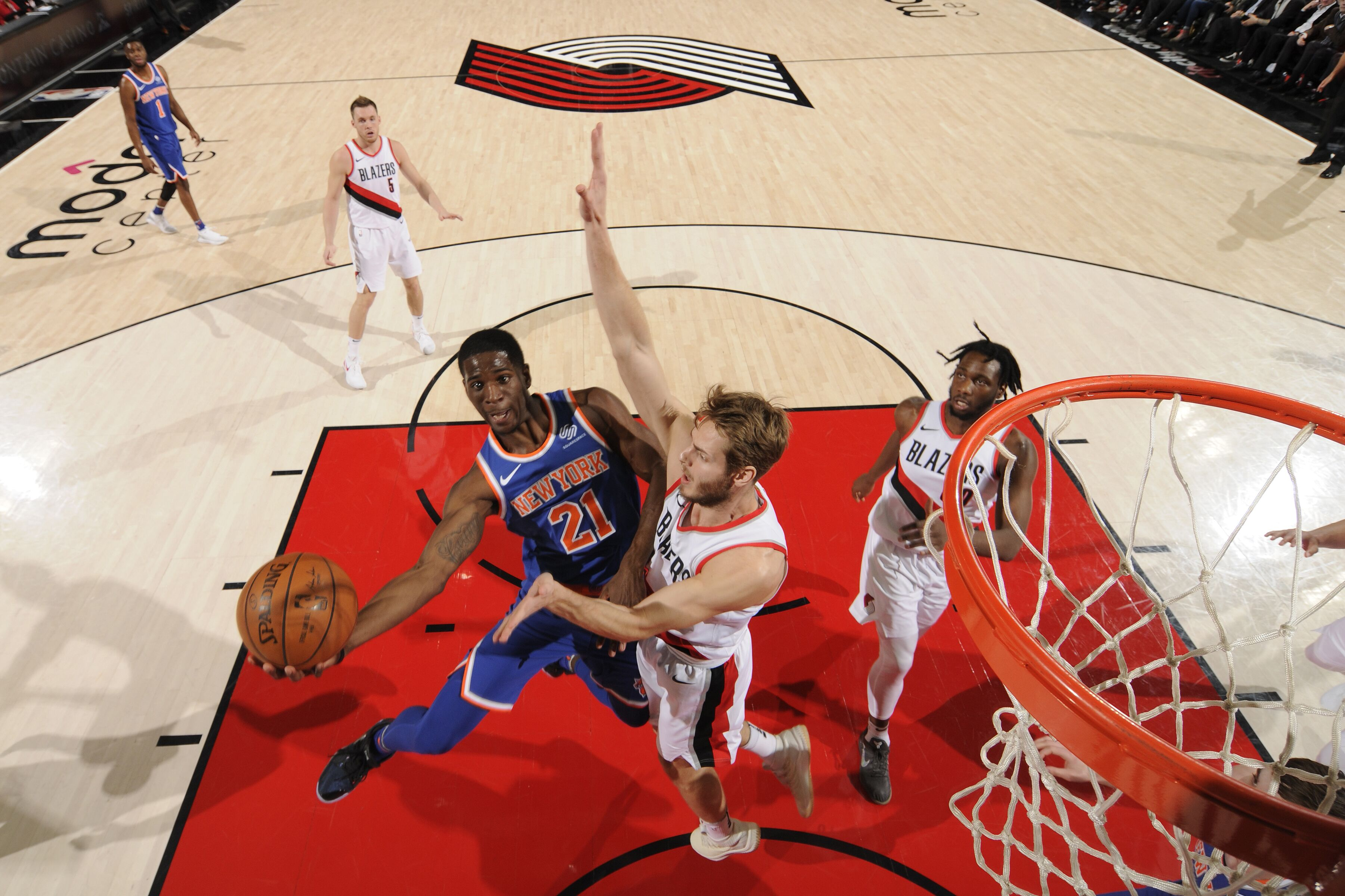 Team New York Knicks  New York Knicks Damyean Dotson breaks out against  Miami Heat ... fcaaa60a4