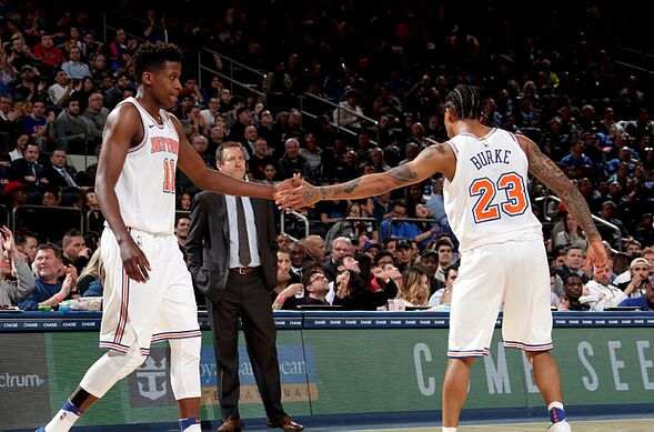 New York Knicks Predicting The Depth Chart For 2018 19 Season