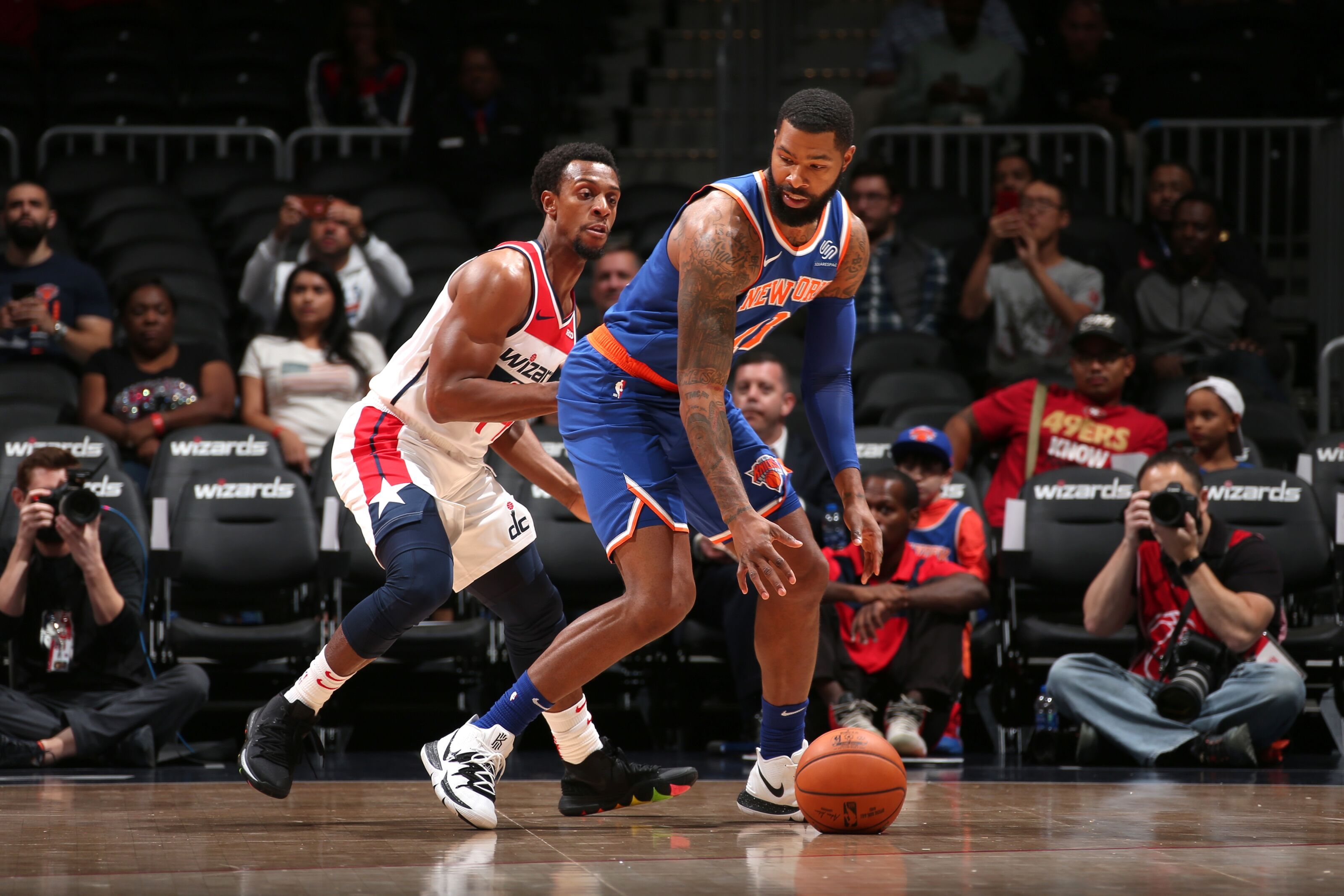 New York Knicks suffer first loss in first MSG game