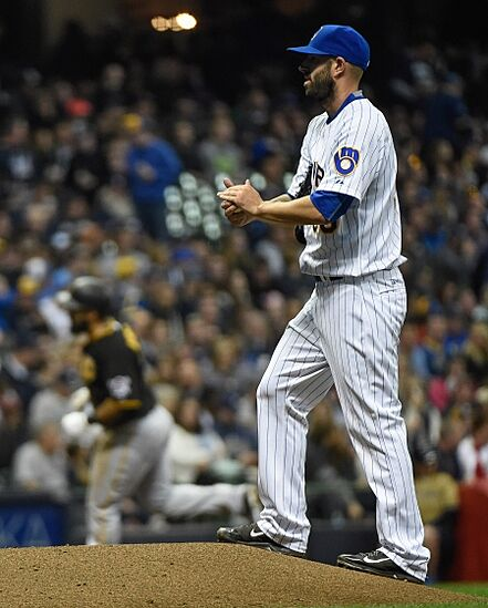 Mike Fiers Images: Milwaukee Brewers Lose To Pirates, Stumble To 0-4 Start