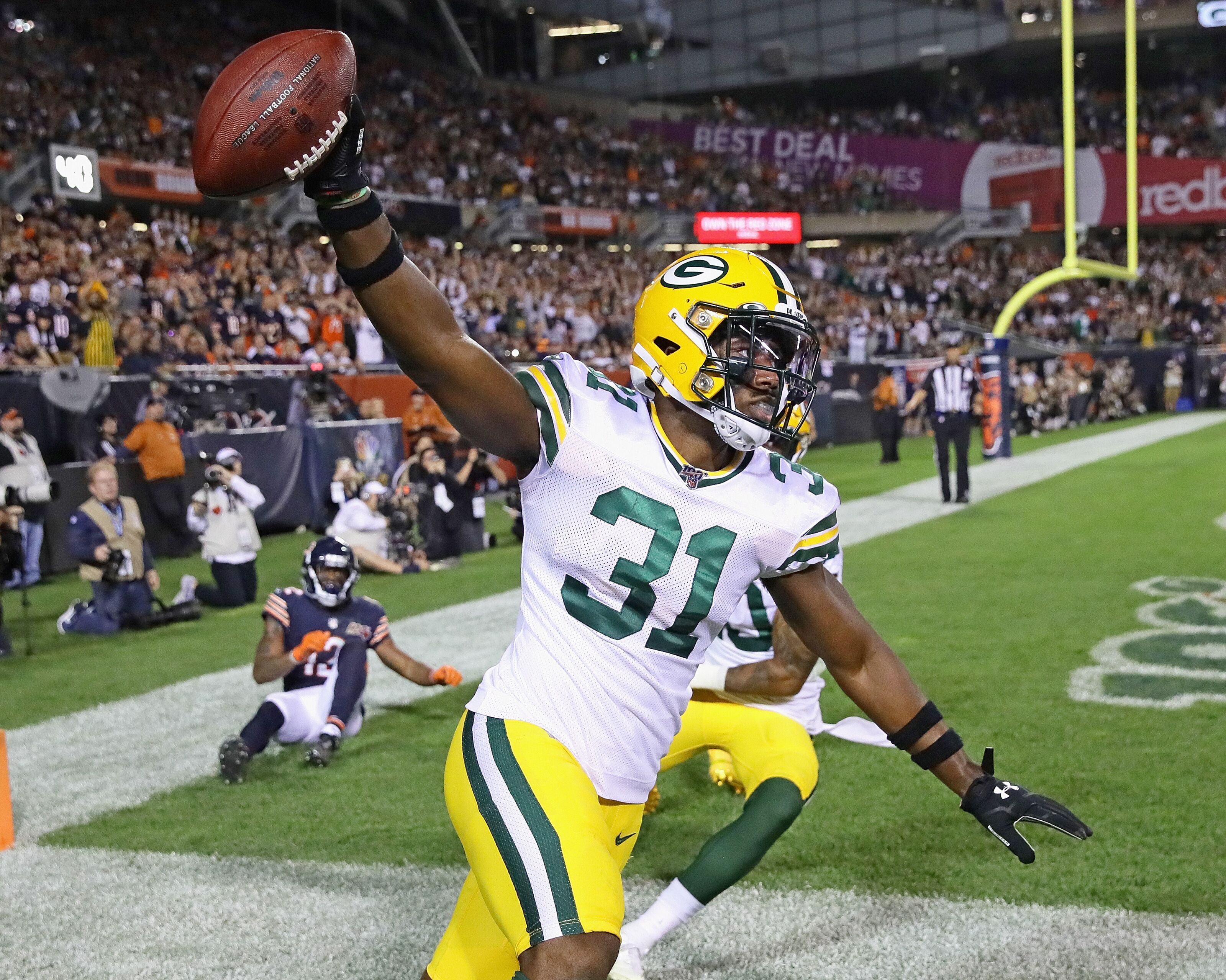 Green Bay Packers offseason additions dominate week 1