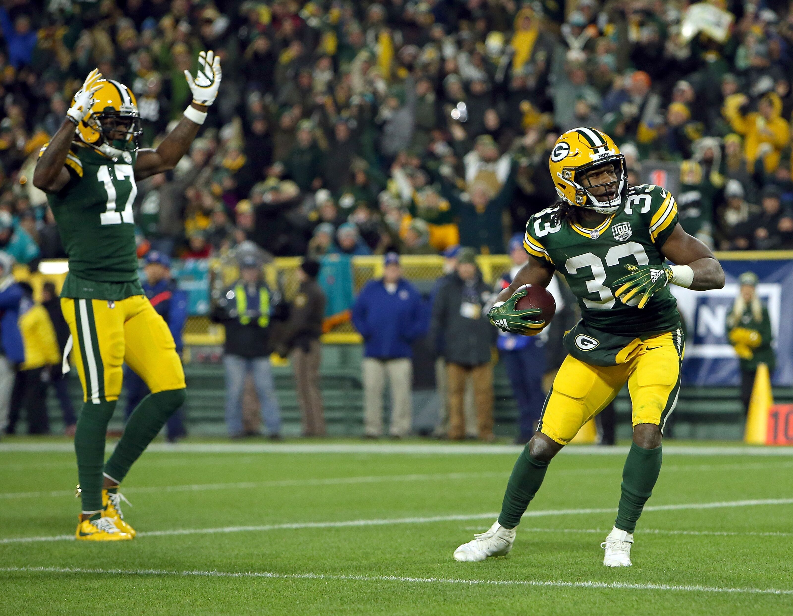 Green Bay Packers will have best wide receiver/running back duo in NFL