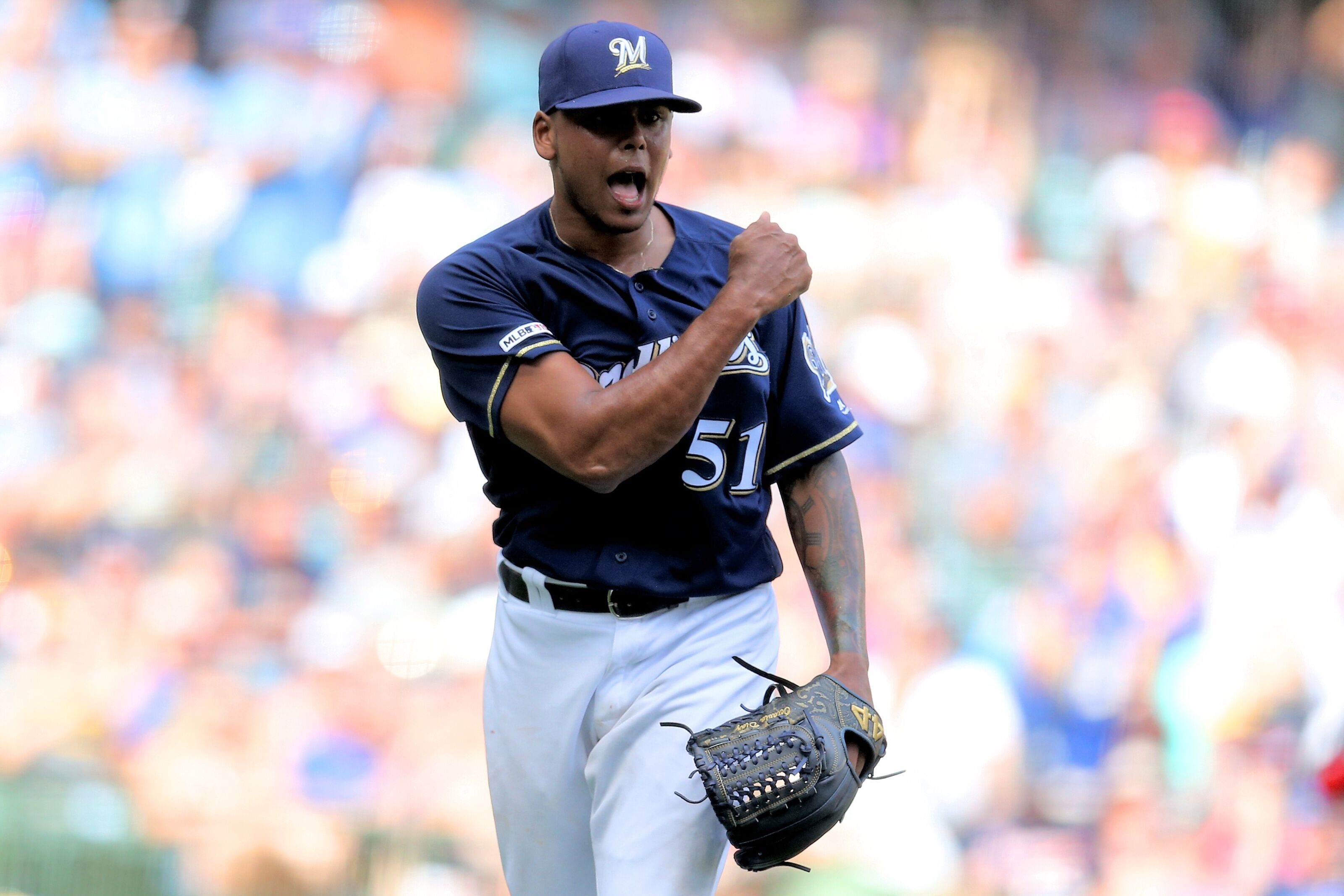 Milwaukee Brewers: How to handle Woodruff's absence