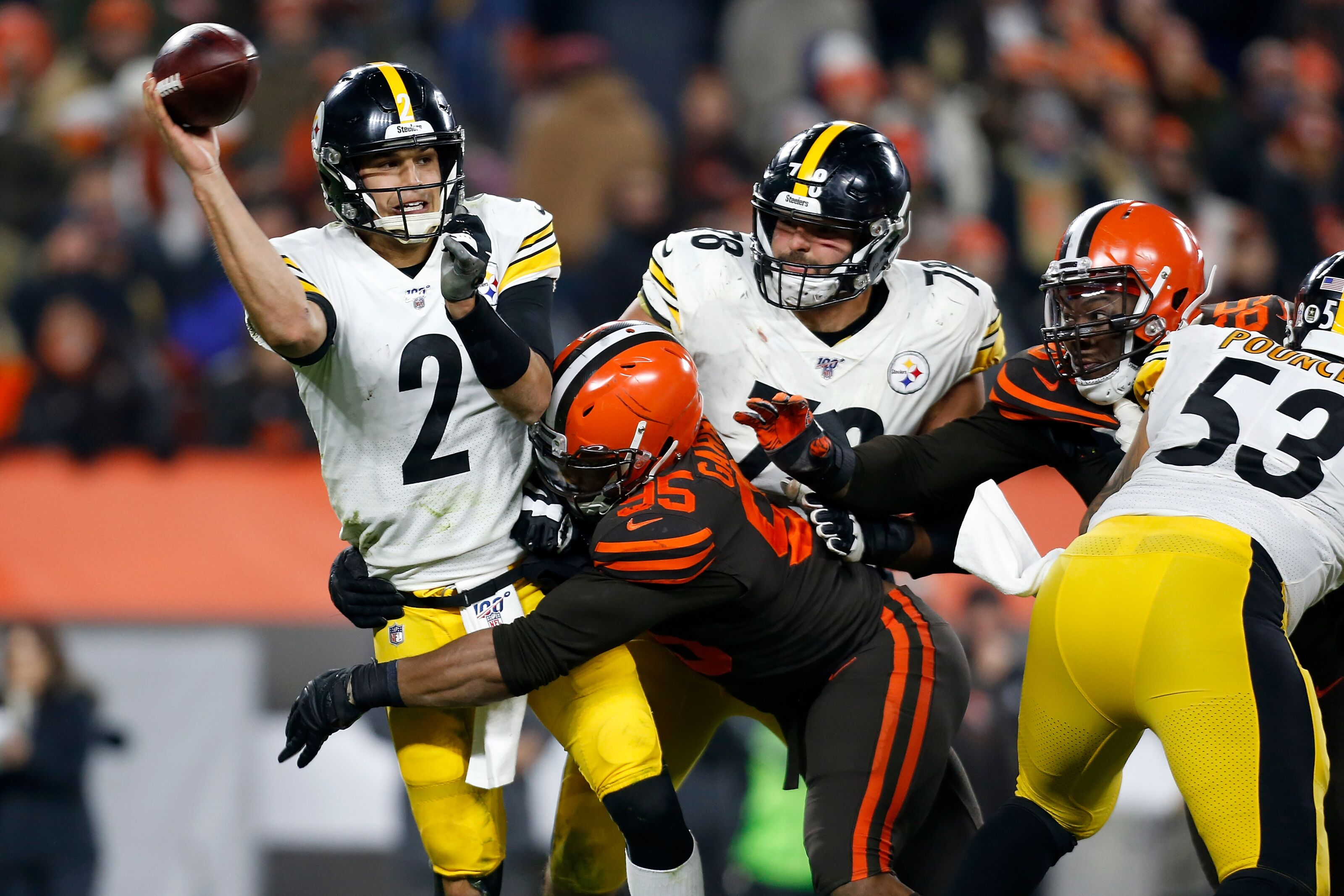 Cleveland Browns were the bully, not the bullied against the Steelers