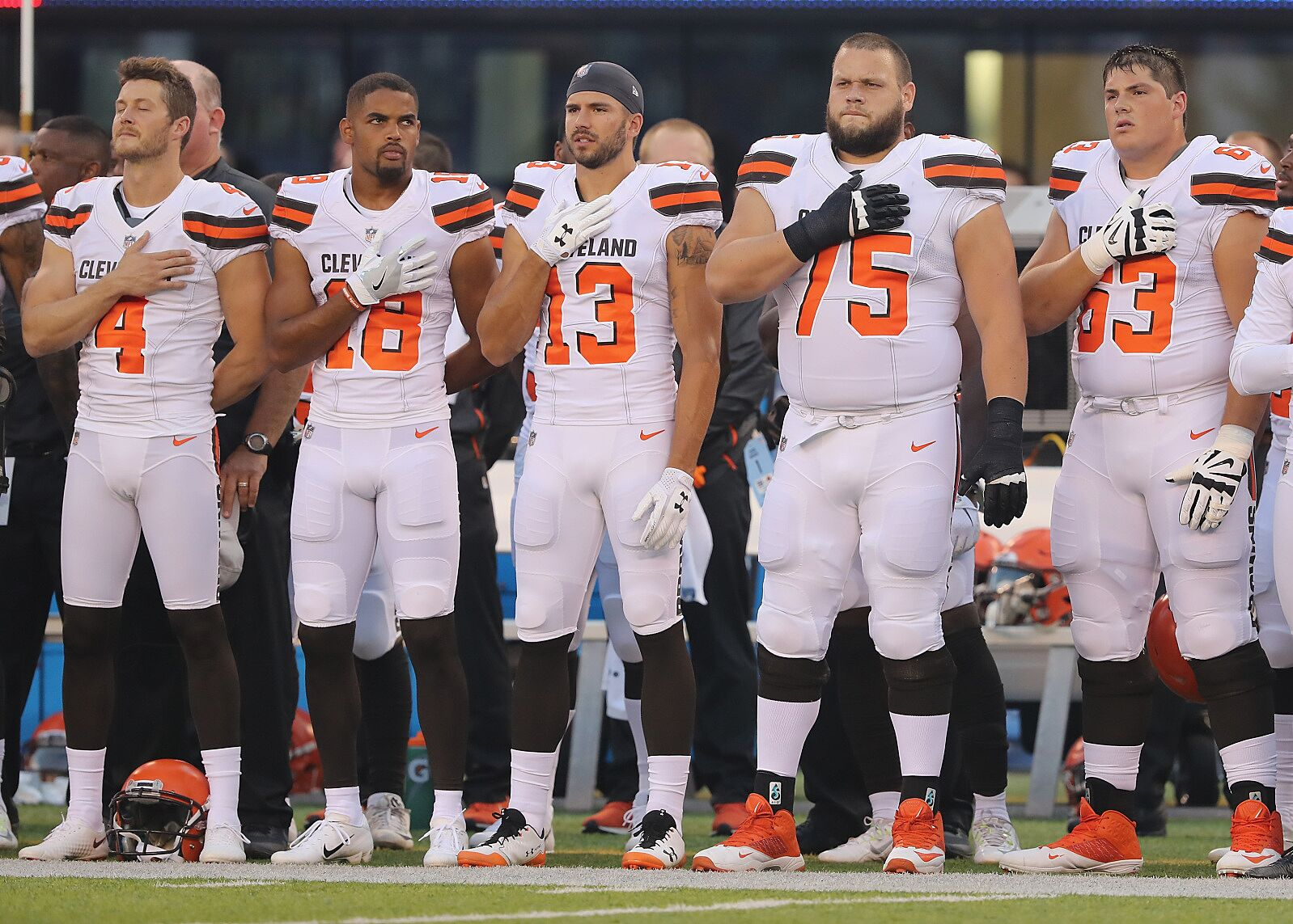 lower price with f456f 94d1b Cleveland Browns: 53 man roster prediction midway through ...