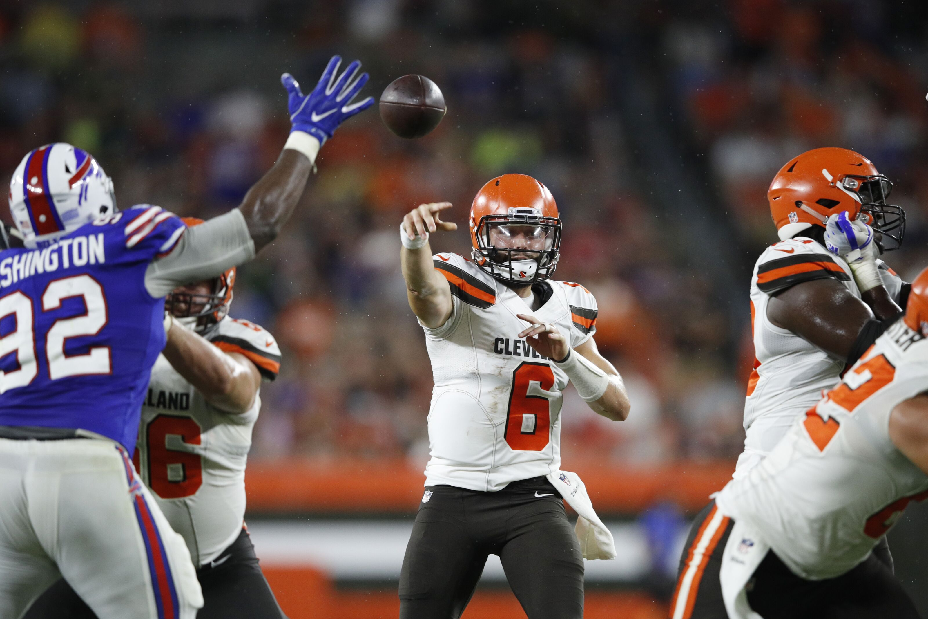 Cleveland Browns  Baker Mayfield needs time with starters f01ef1299