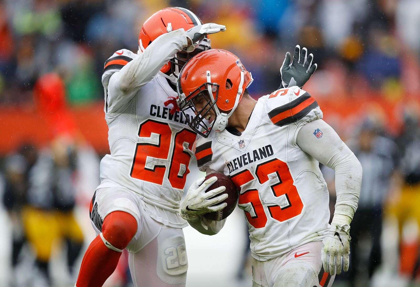 Are the Cleveland Browns confident in their current group of linebackers?