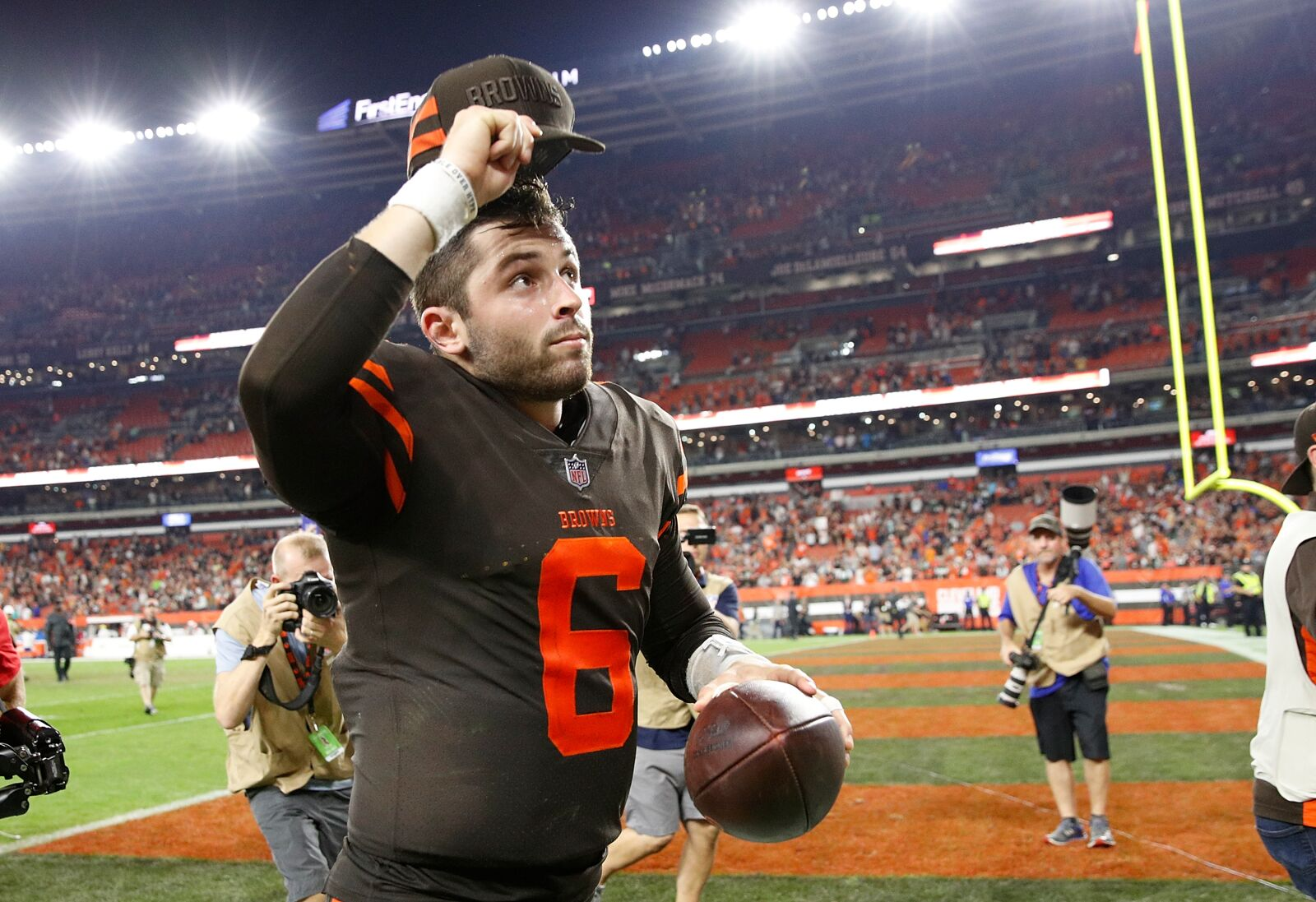 Browns' Freddie Kitchens: Baker Mayfield a perfect fit for Cleveland