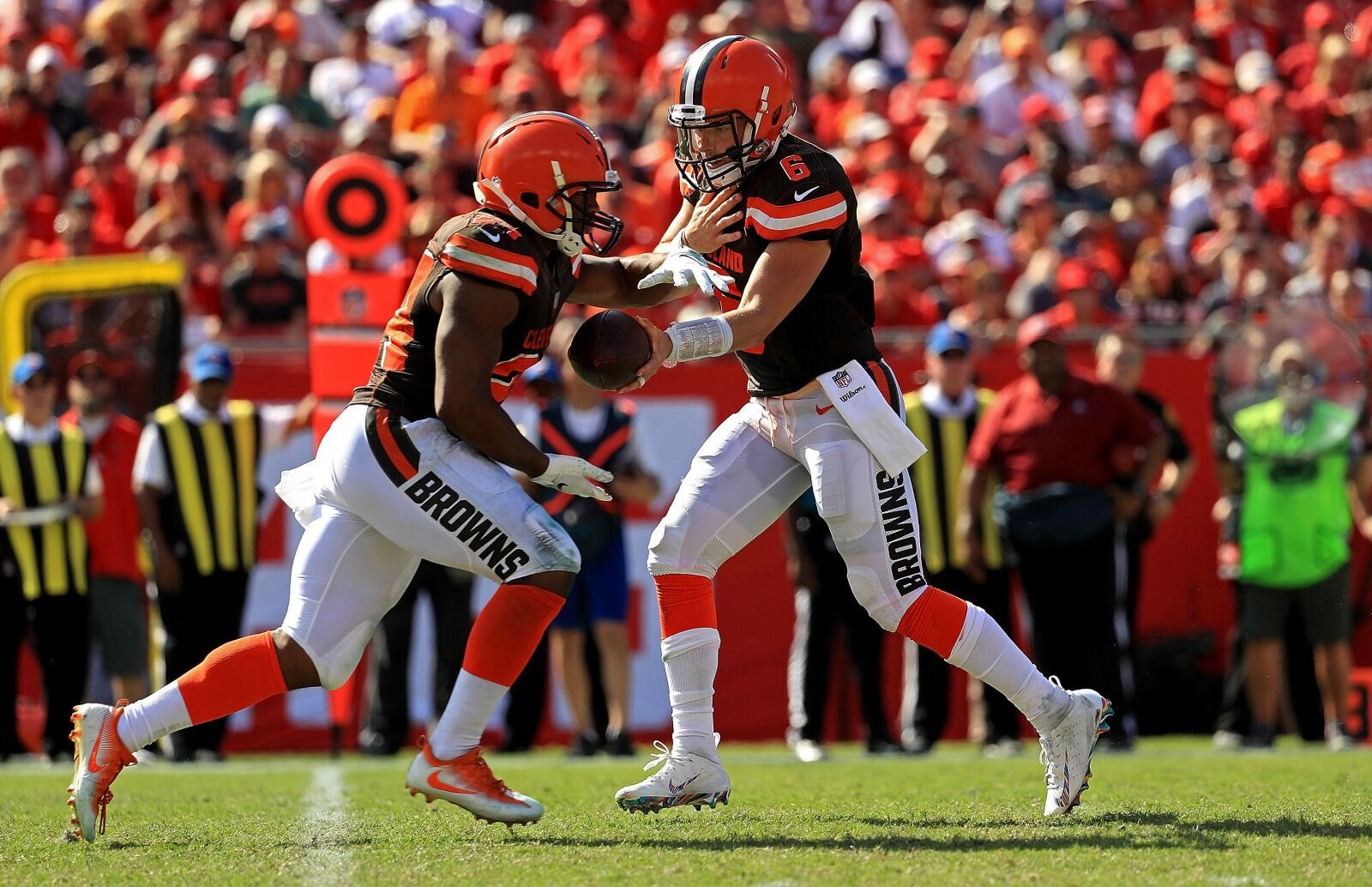 Cleveland Browns: How did running back Nick Chubb look in