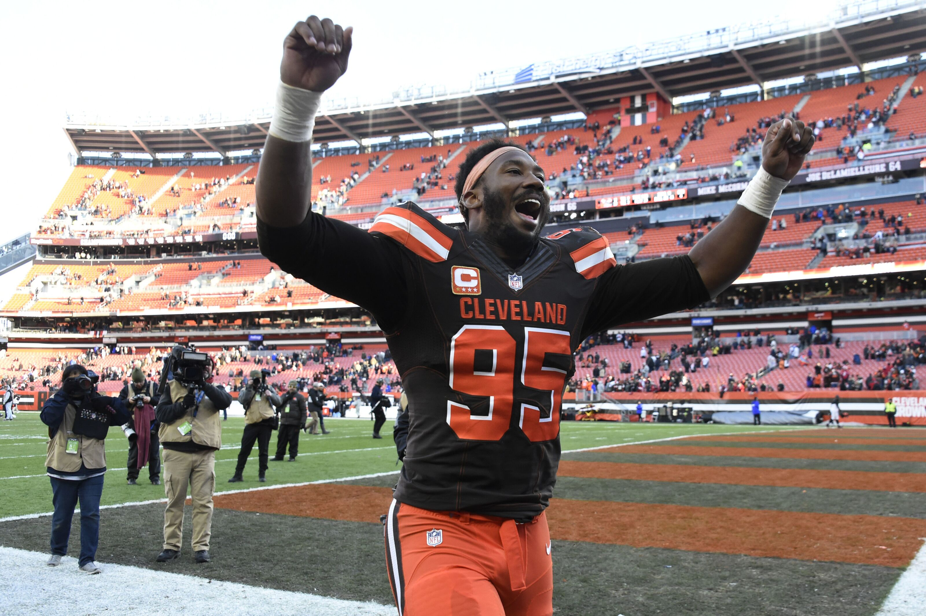 Cleveland Browns defensive end Myles Garrett has DPOY potential in 2019