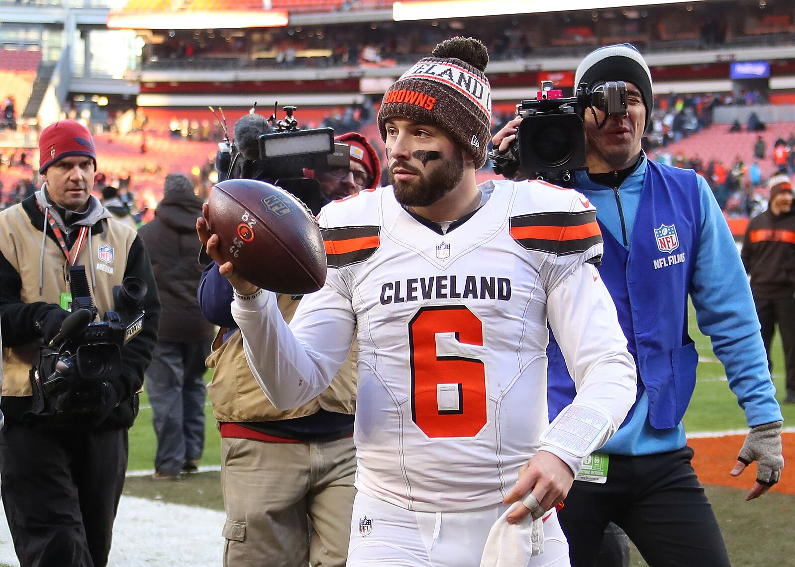 e14de40852d911 Can Cleveland Browns QB Baker Mayfield be the best No. 6 to ever play in  the NFL?