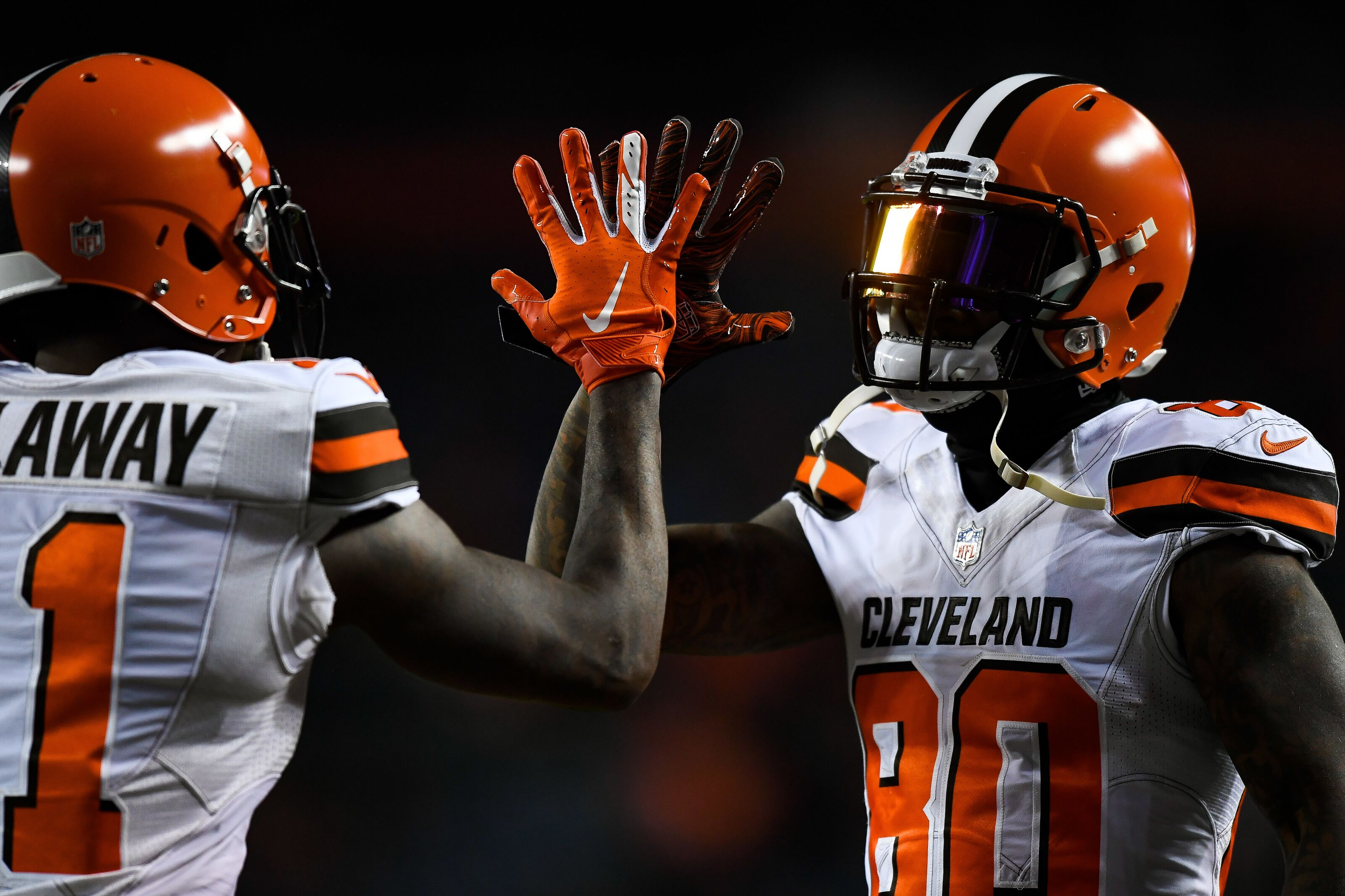 purchase cheap 0b2e9 67d62 Cleveland Browns: Do they have the best WR core in the AFC ...