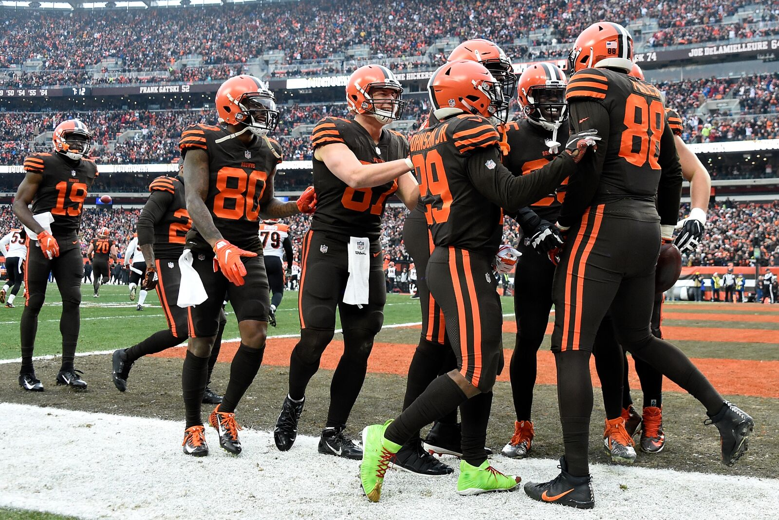 Cleveland Browns have fifth-best odds to win Super Bowl LIV