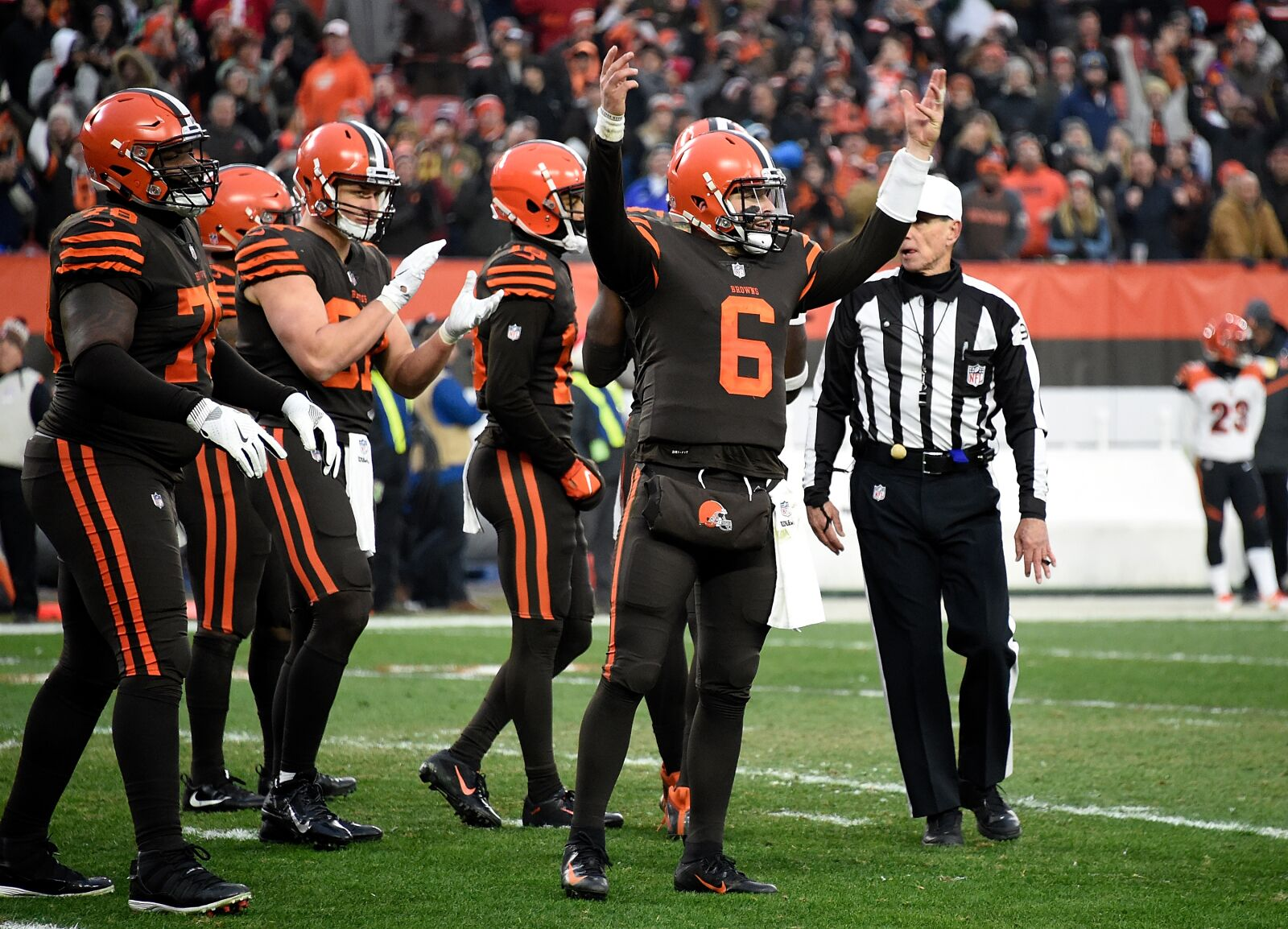 2c0773b51c Cleveland Browns Baker Mayfield Mic'd Up, Psyched Up – Part II