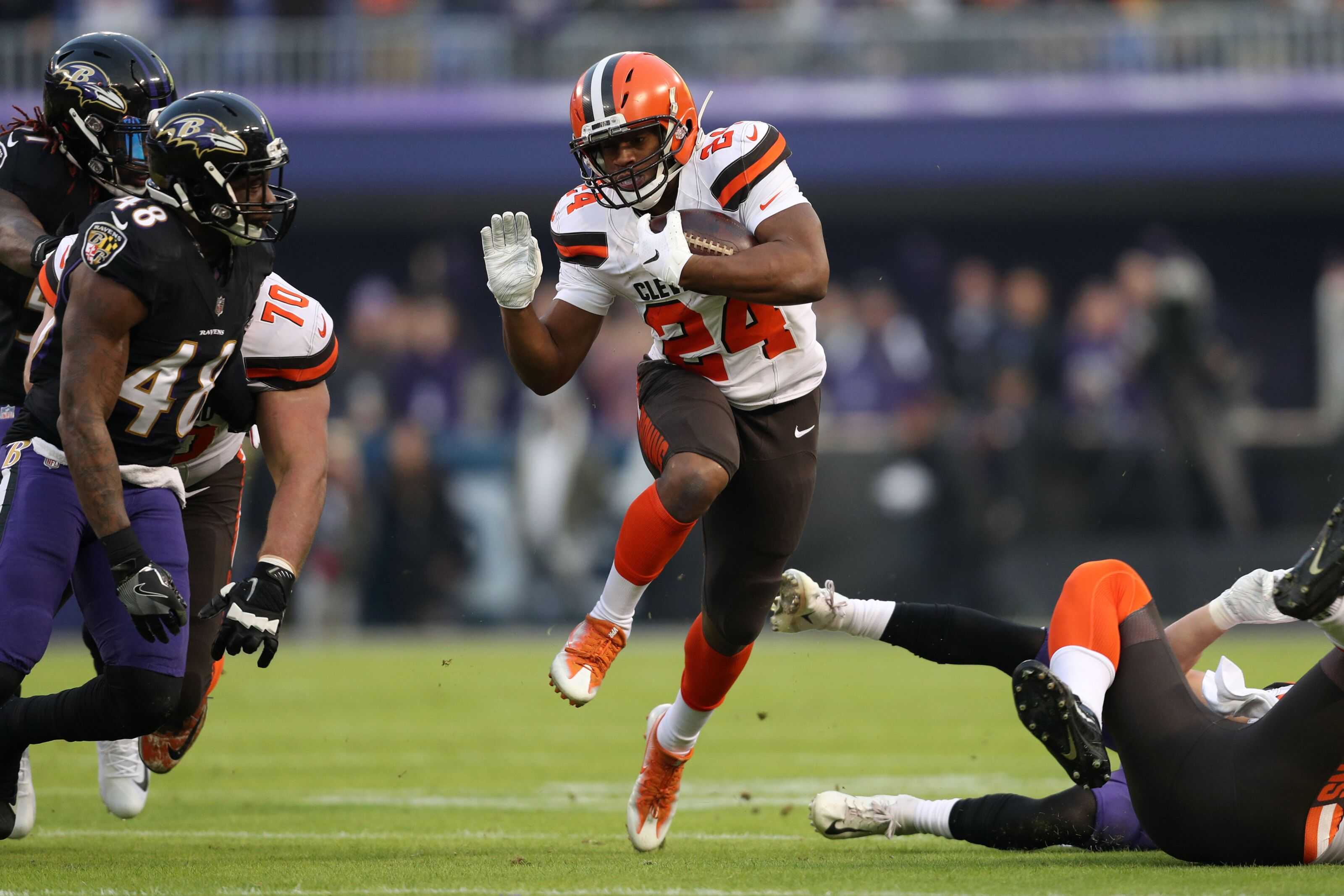 Cleveland Browns playoff bound in 2019 says Nick Chubb